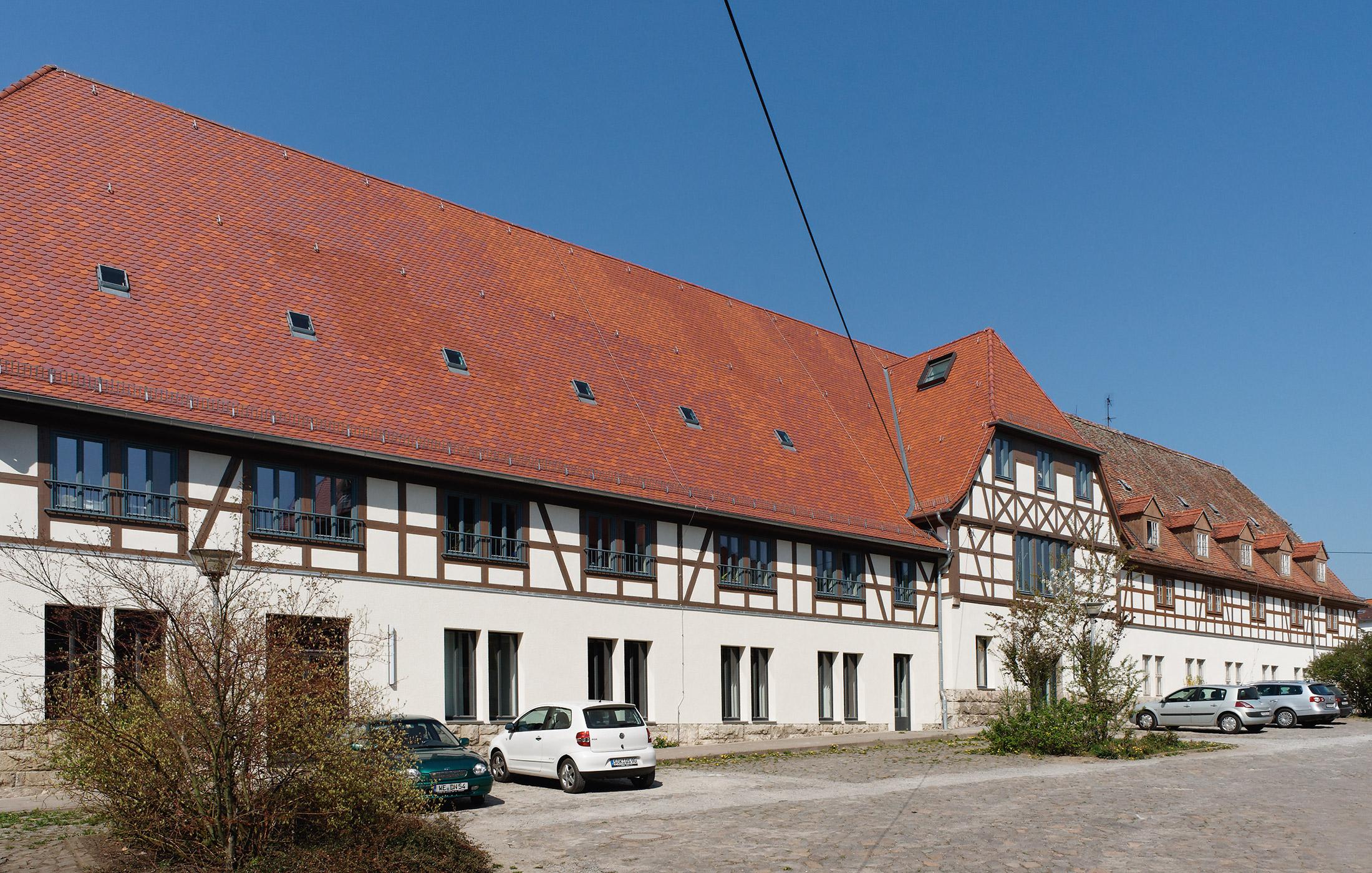 2010, Instandsetzung und Erweiterung Landgut Holzdorf, Weimar-Holzdorf