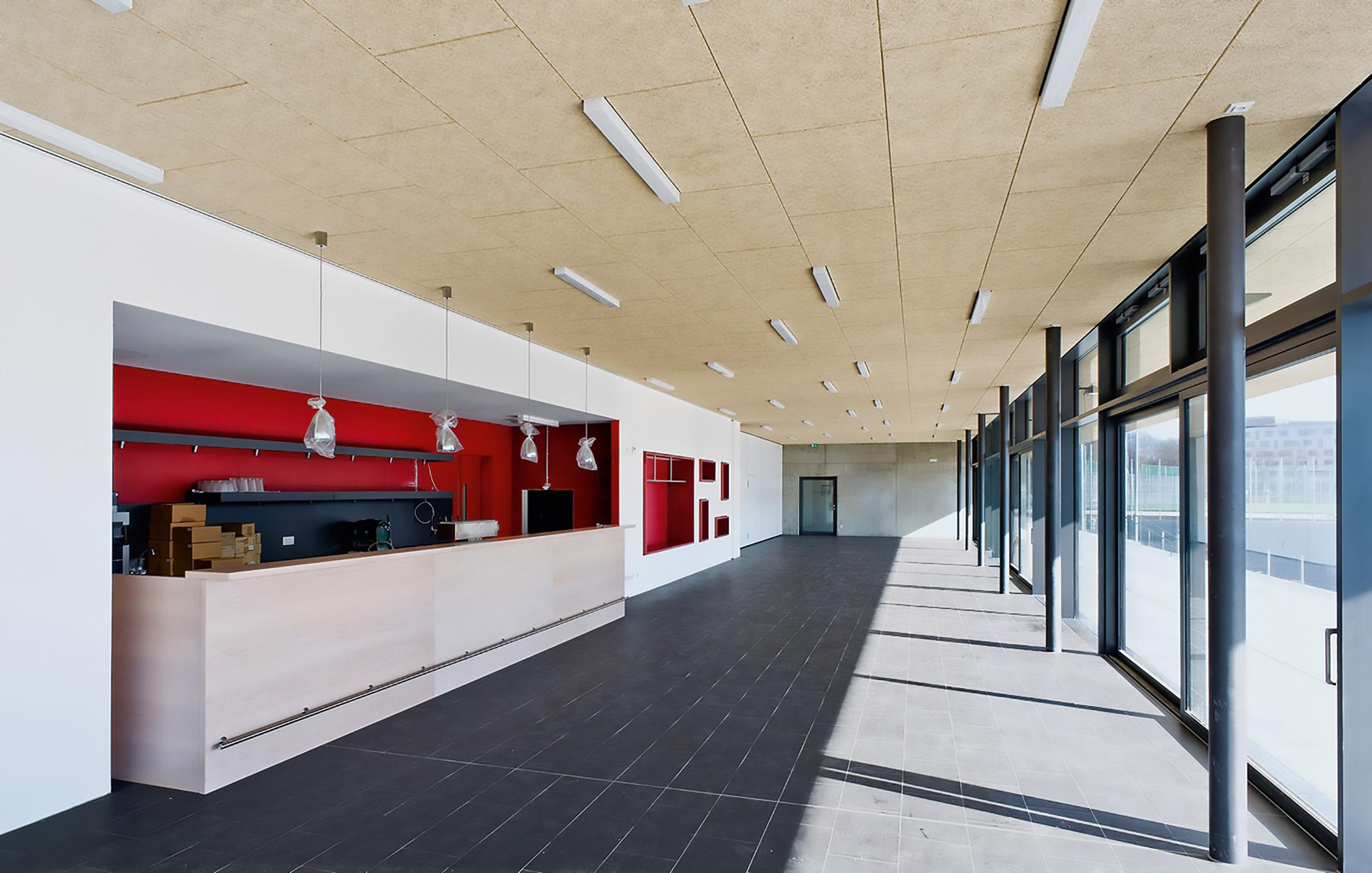 2012, Neubau Vereinsheim und Turnhalle ESV VfL Neckarpark