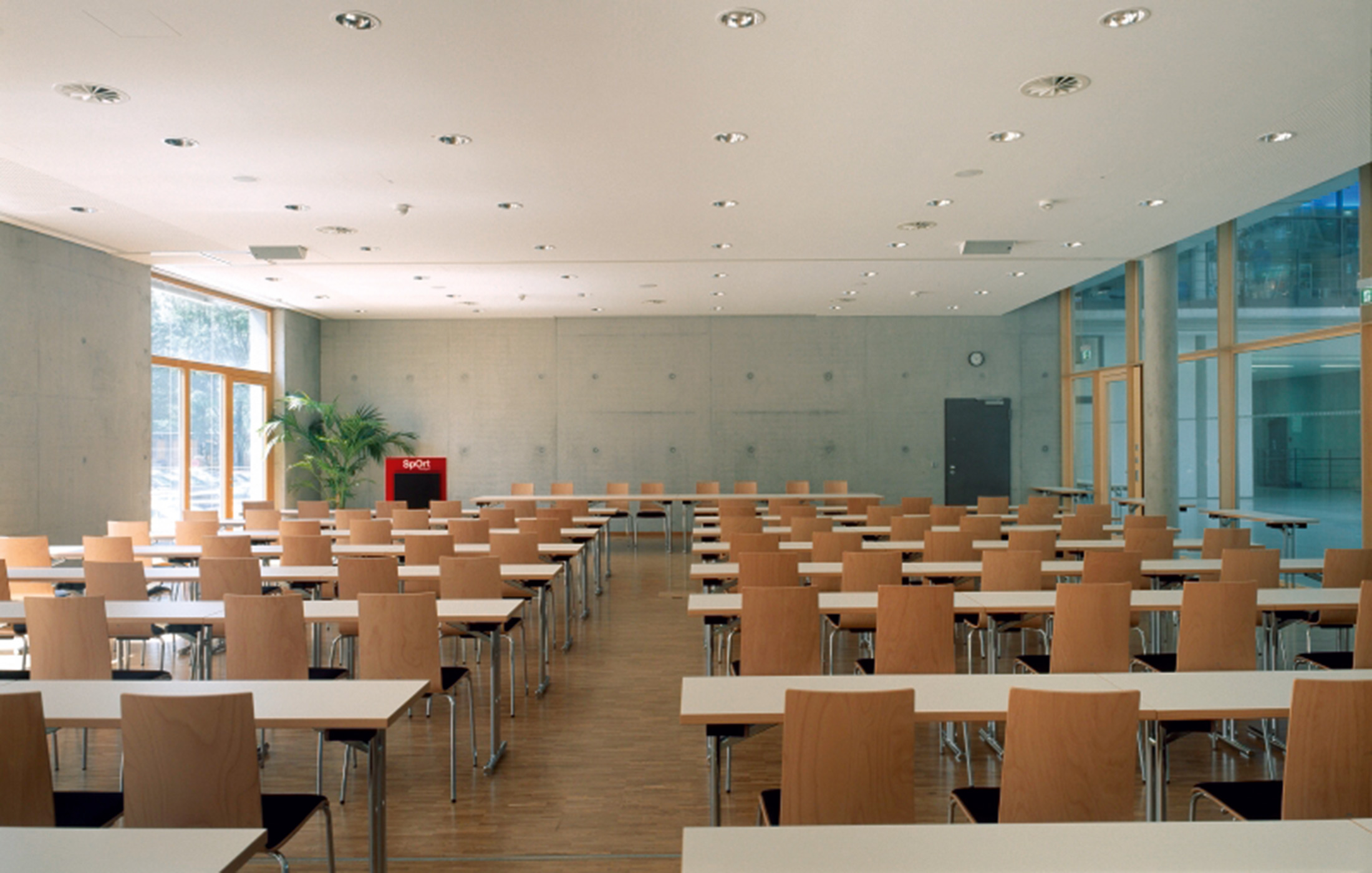 2006, Neubau SpOrt Stuttgart