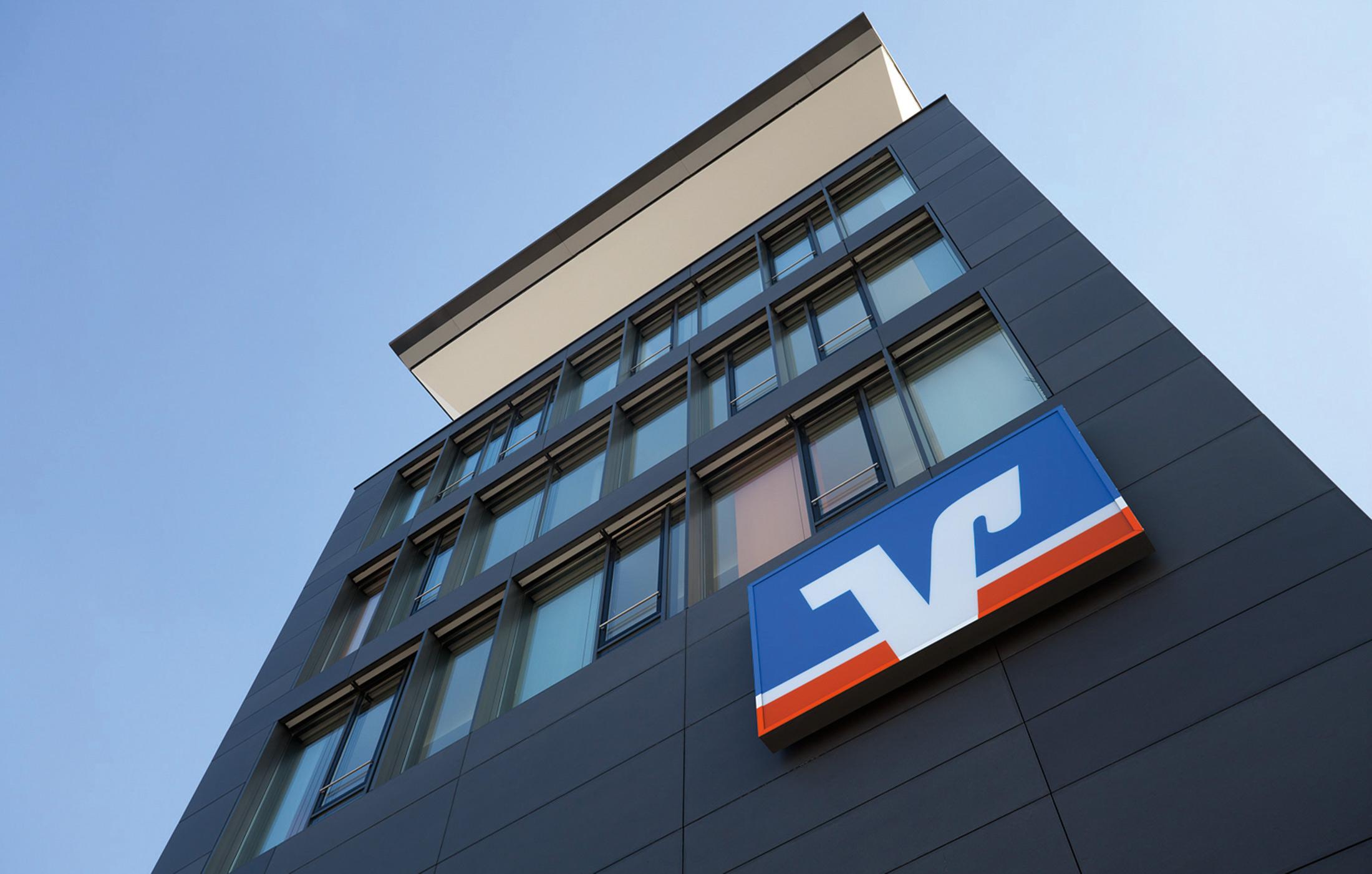 2011, Neubau der Volksbank, Ettlingen