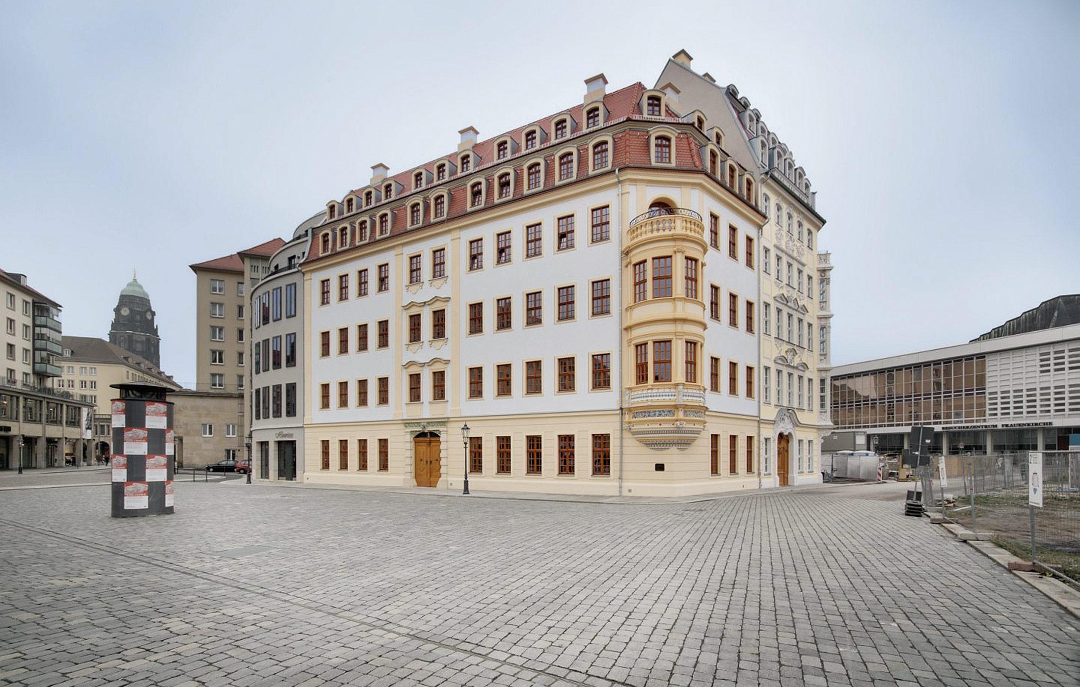 2008, Neubau Heinrich Schütz Residenz, Dresden