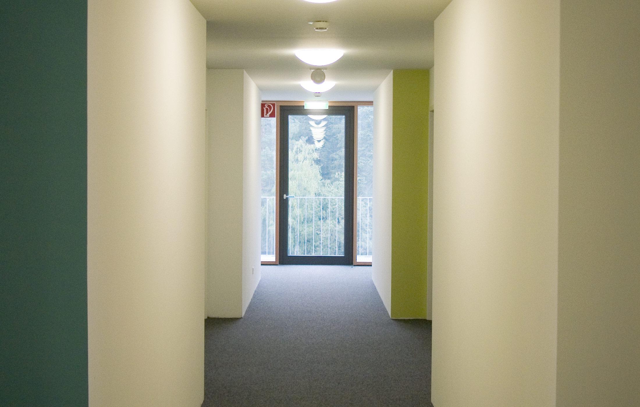 2007, Neubau Internat Abbruch, Umbau und Sanierung Hochhaus Berufsförderungswerk Schömberg e.V.