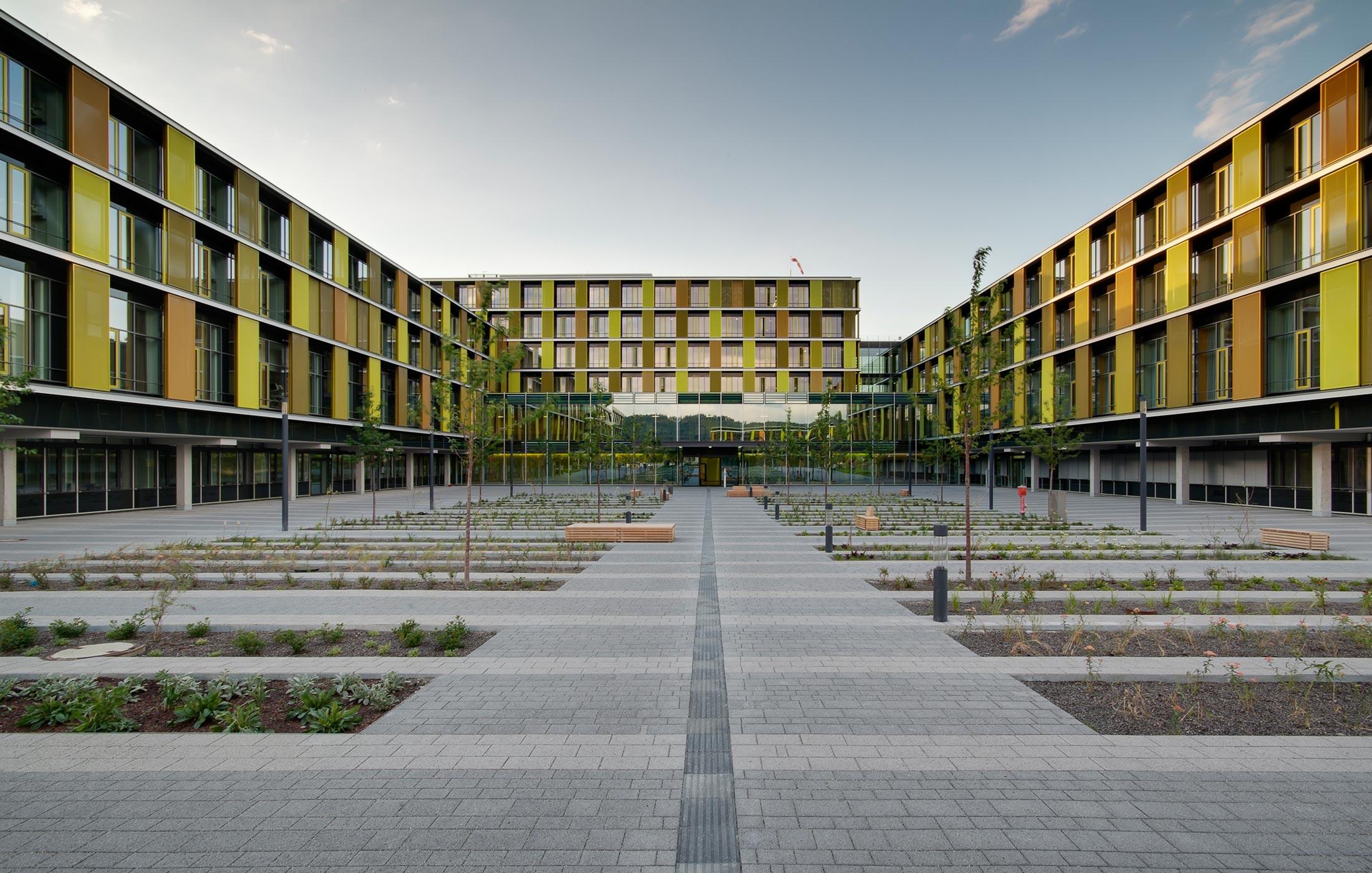 2014, Neubau Rems-Murr Klinikum, Winnenden