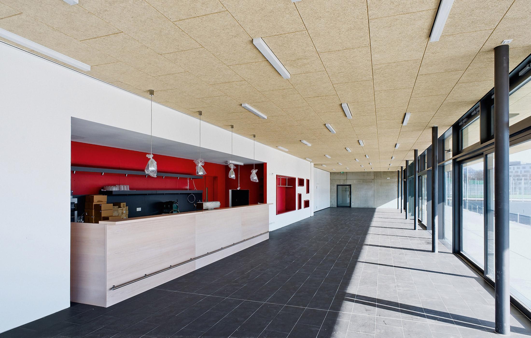 2012, Neubau Vereinsheim und Turnhalle ESV / VfL, Neckarpark Stuttgart