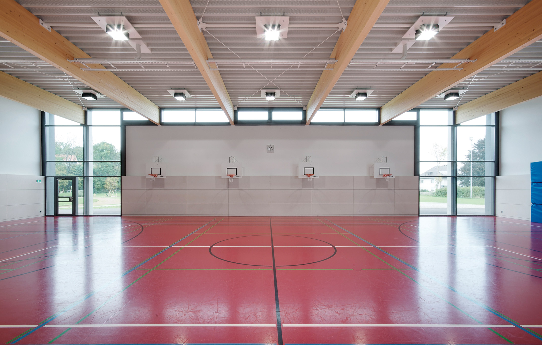 2012, Neubau Sporthalle und Mehrzweckhalle, Aitrach