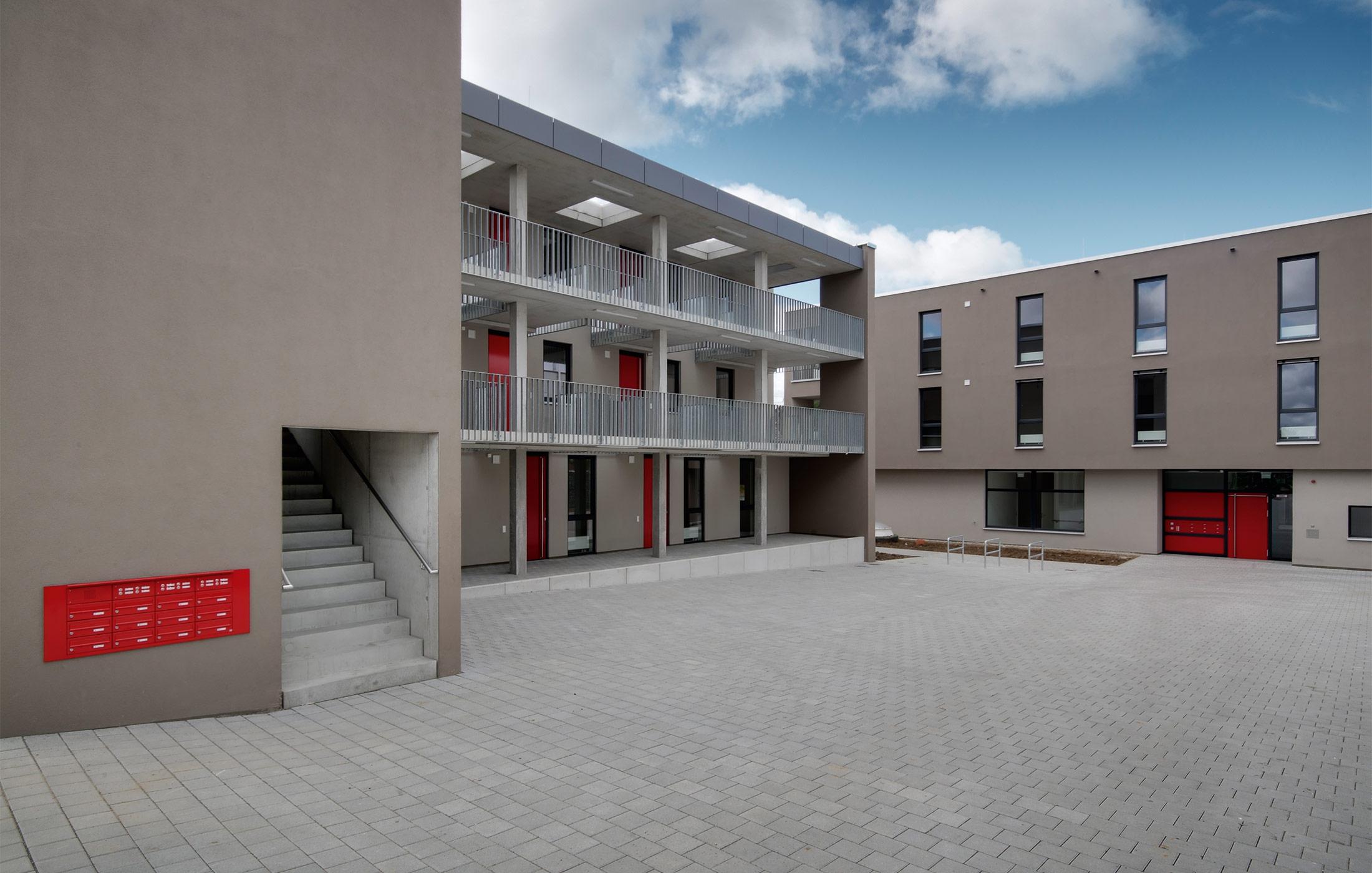 2012, Neubau Wohnheim für die Diakonie Stetten e.V. , Plattenhardt