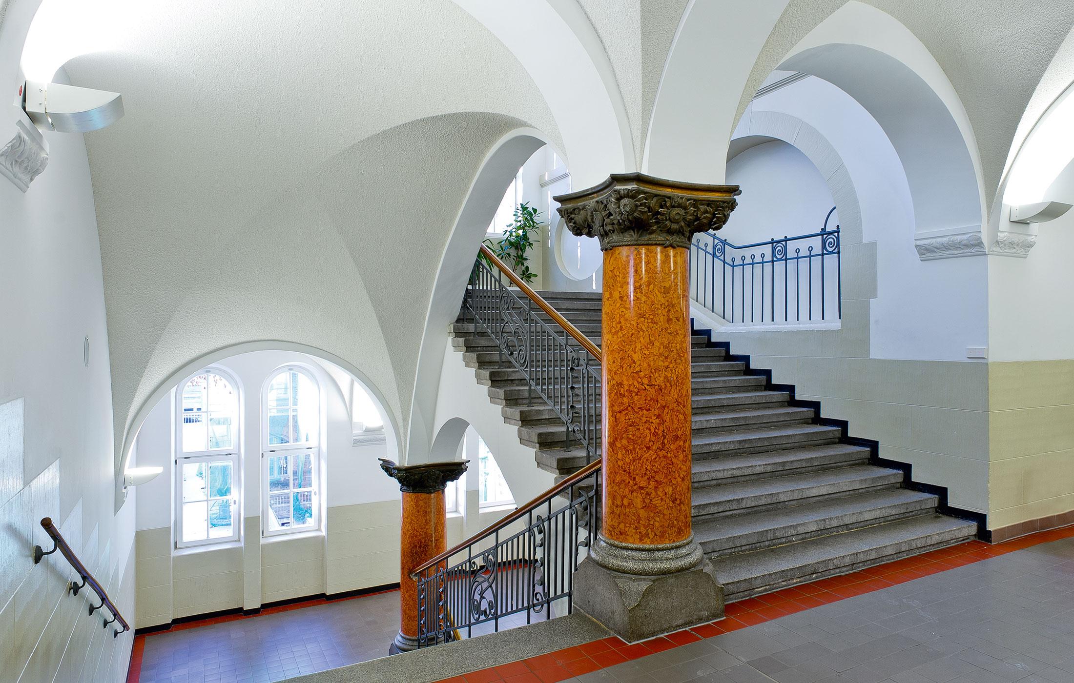 2012, Generalsanierung Königin Katharina Stift, Stuttgart