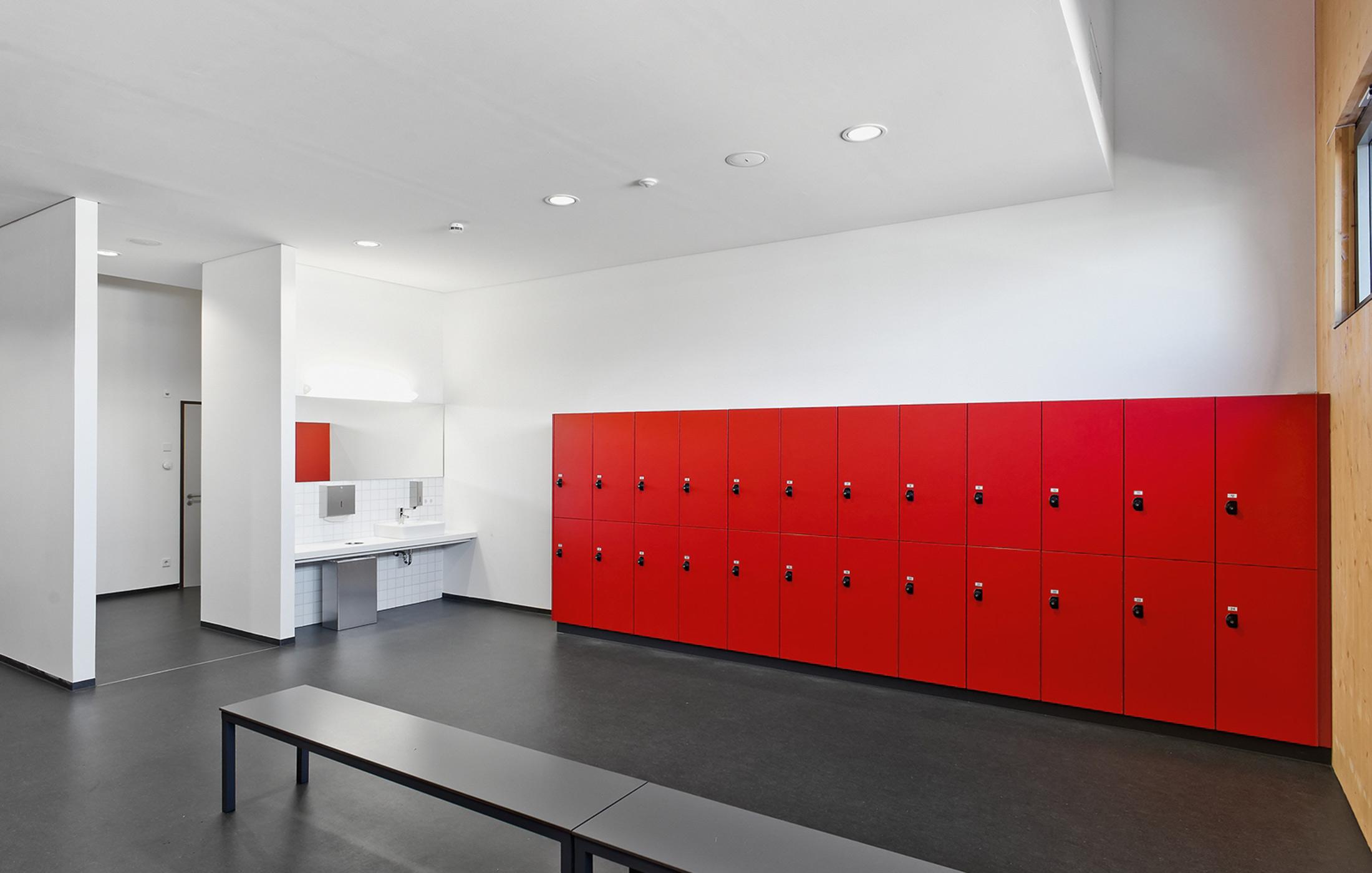 2012, Neubau Sportvereinszentrum, Großsachsenheim