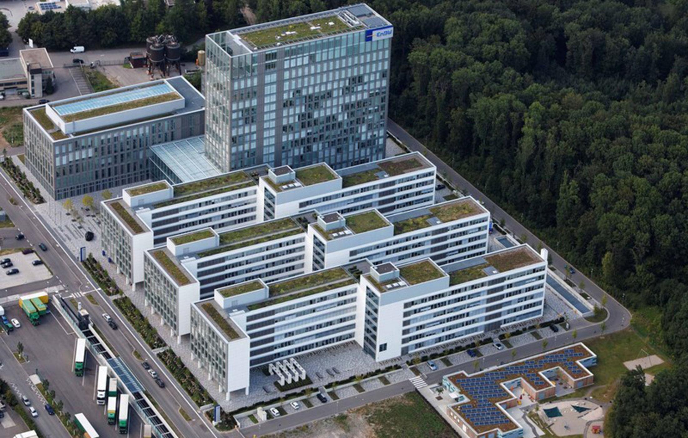 2017, Umbau EnBW Real Office, Karlsruhe und Stuttgart