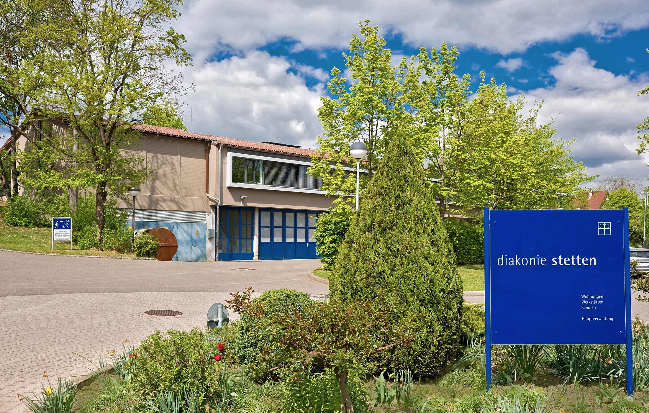 2013, Umbau Schreinerei Diakonie Stetten