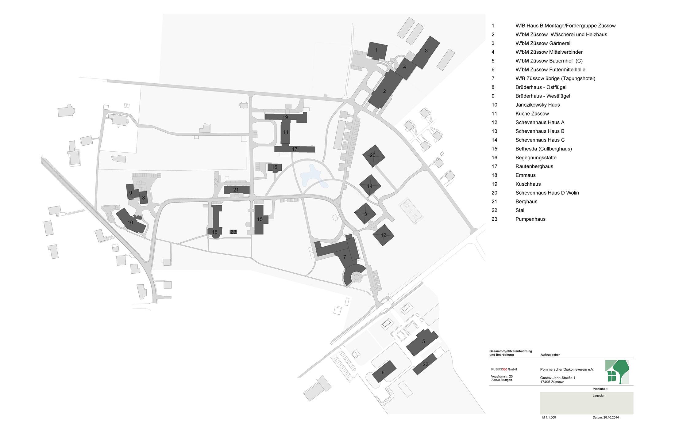 2015, Bestandsaufnahme für den Pommerschern Diakonieverein, Züssow