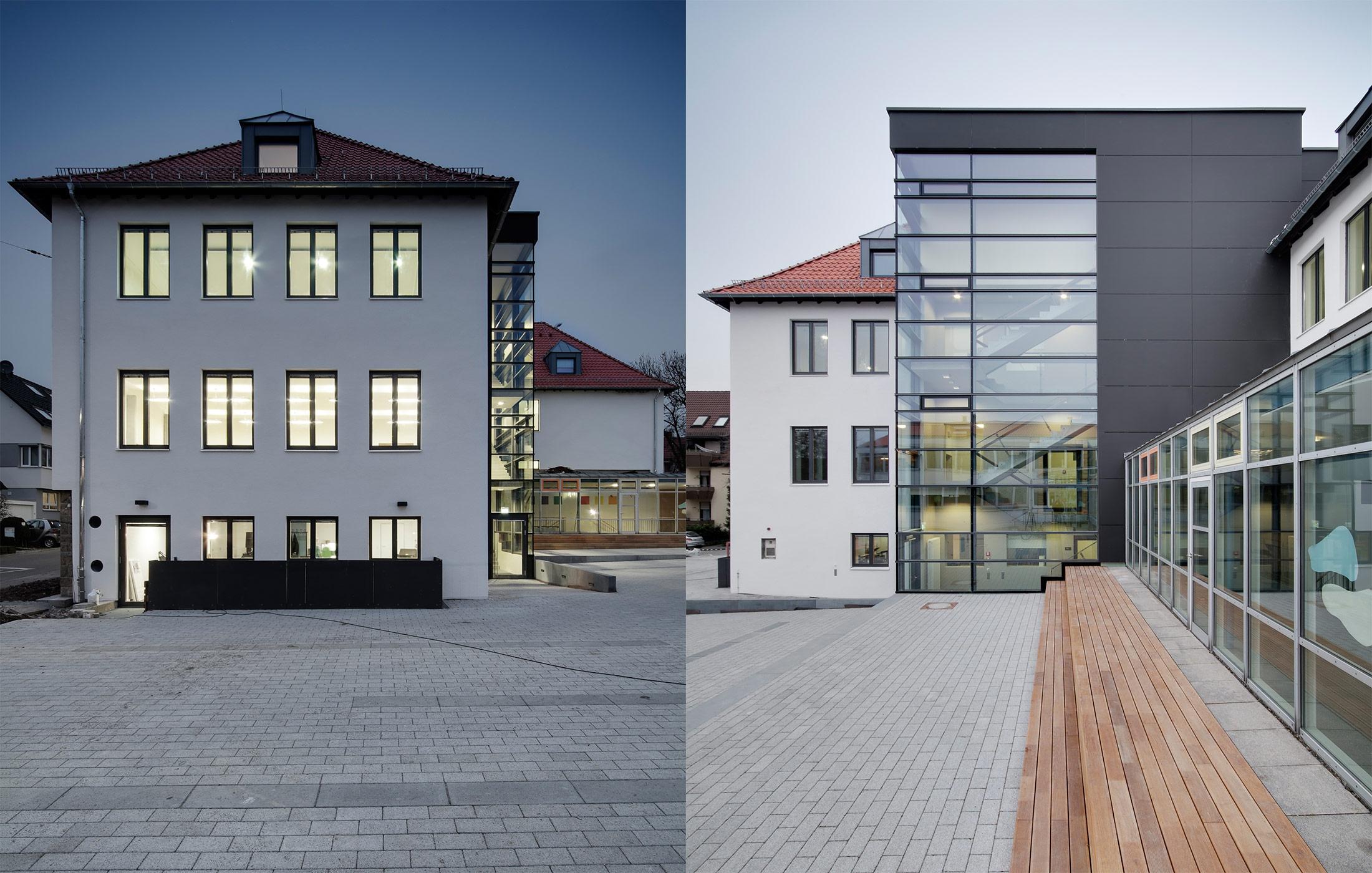 2014, Sanierung und Umbau der Zeppelinschule und Musikschule, Leinfelden-Echterdingen