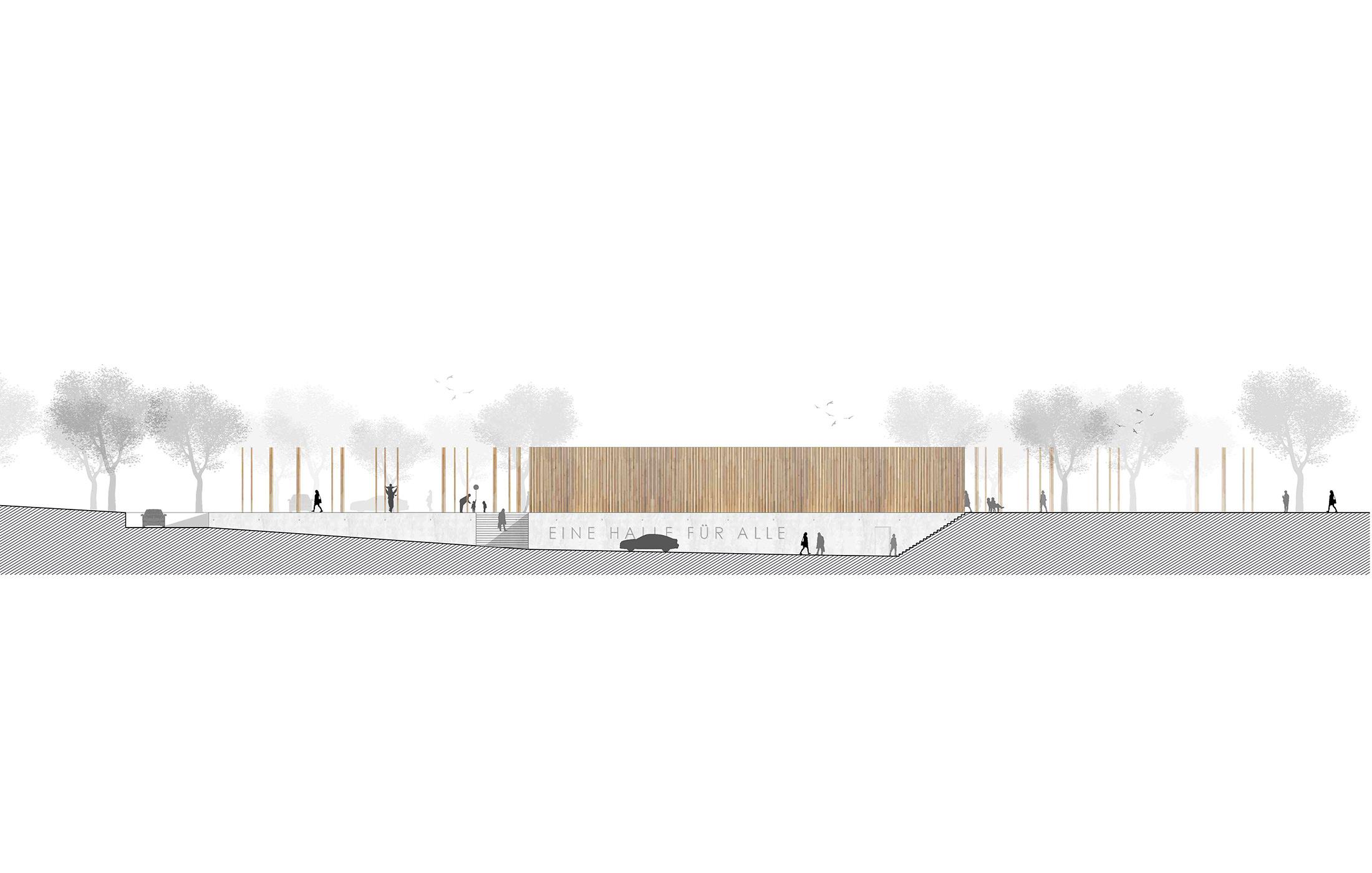 2014, Wettbewerb Sporthalle, Oberflockenbach