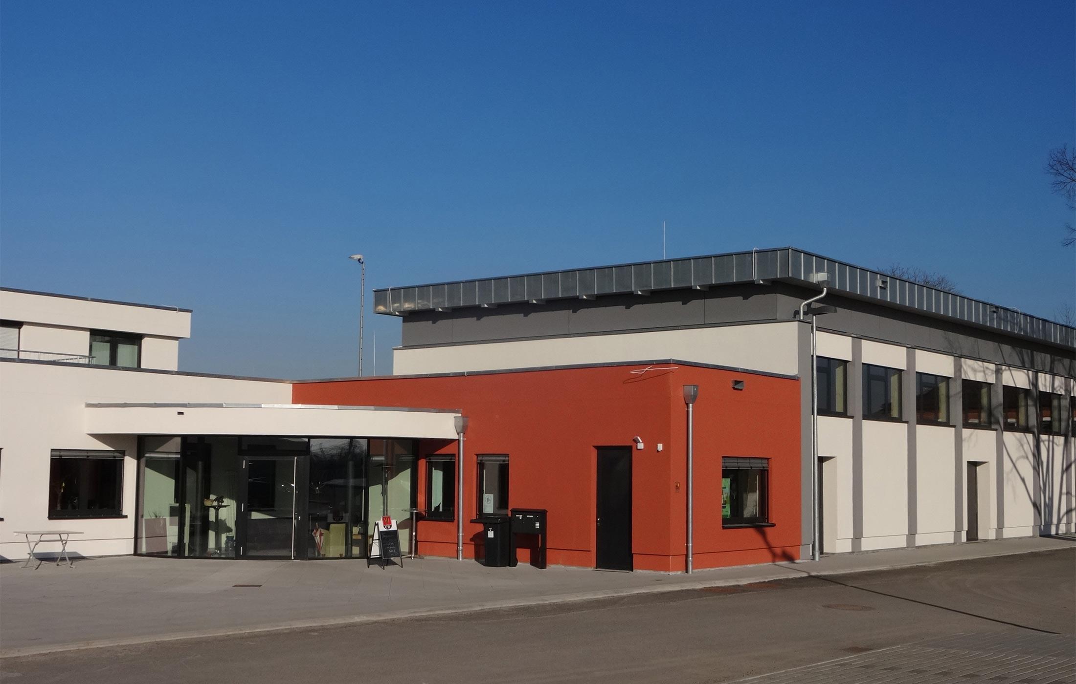 2014, Sanierung und Erweiterung Jahnsporthalle, Kornwestheim