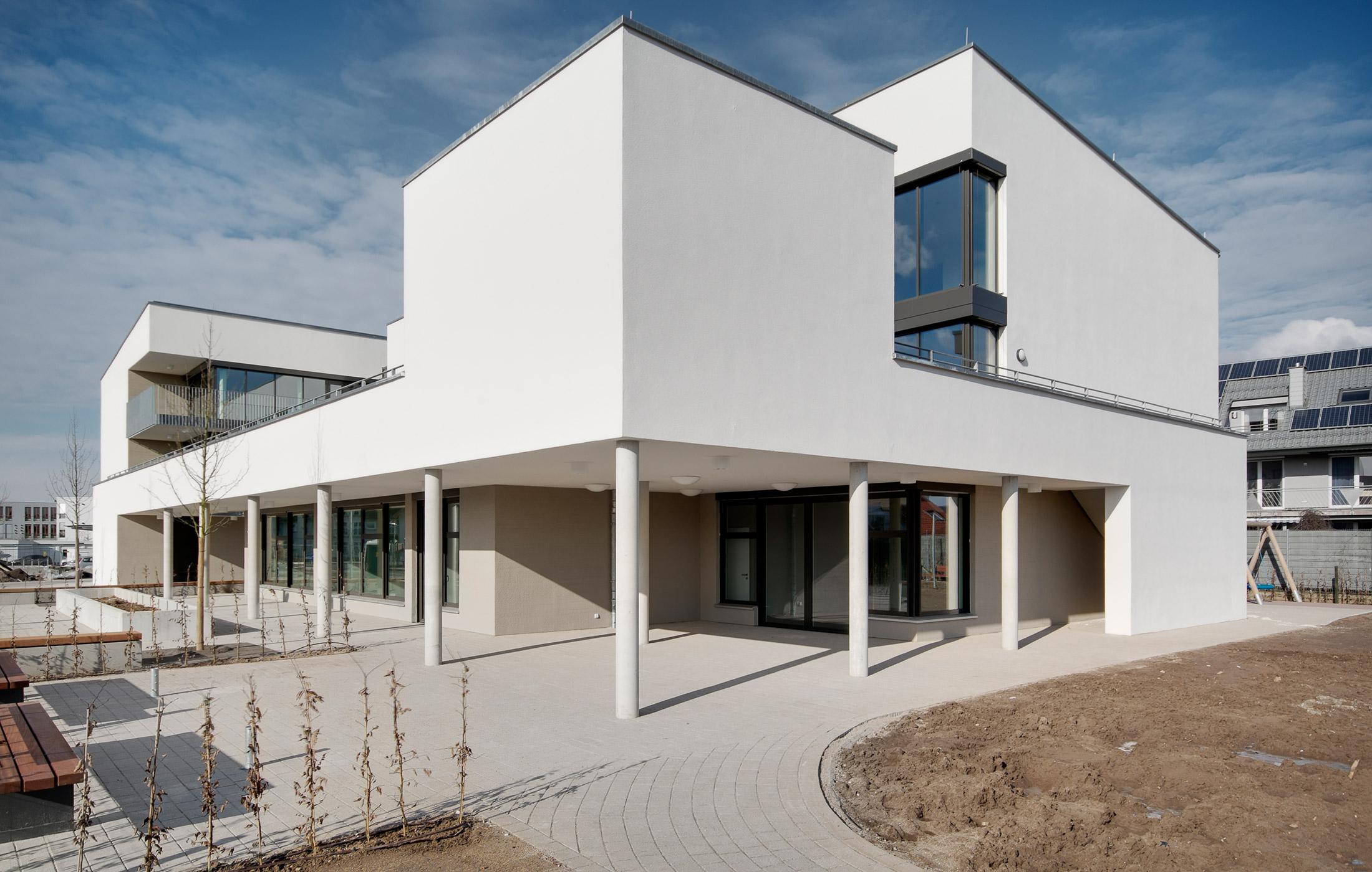 2015, Neubau Wohnheim für die Johannes Diakonie Mosbach e.V., Sankt-Leon-Rot