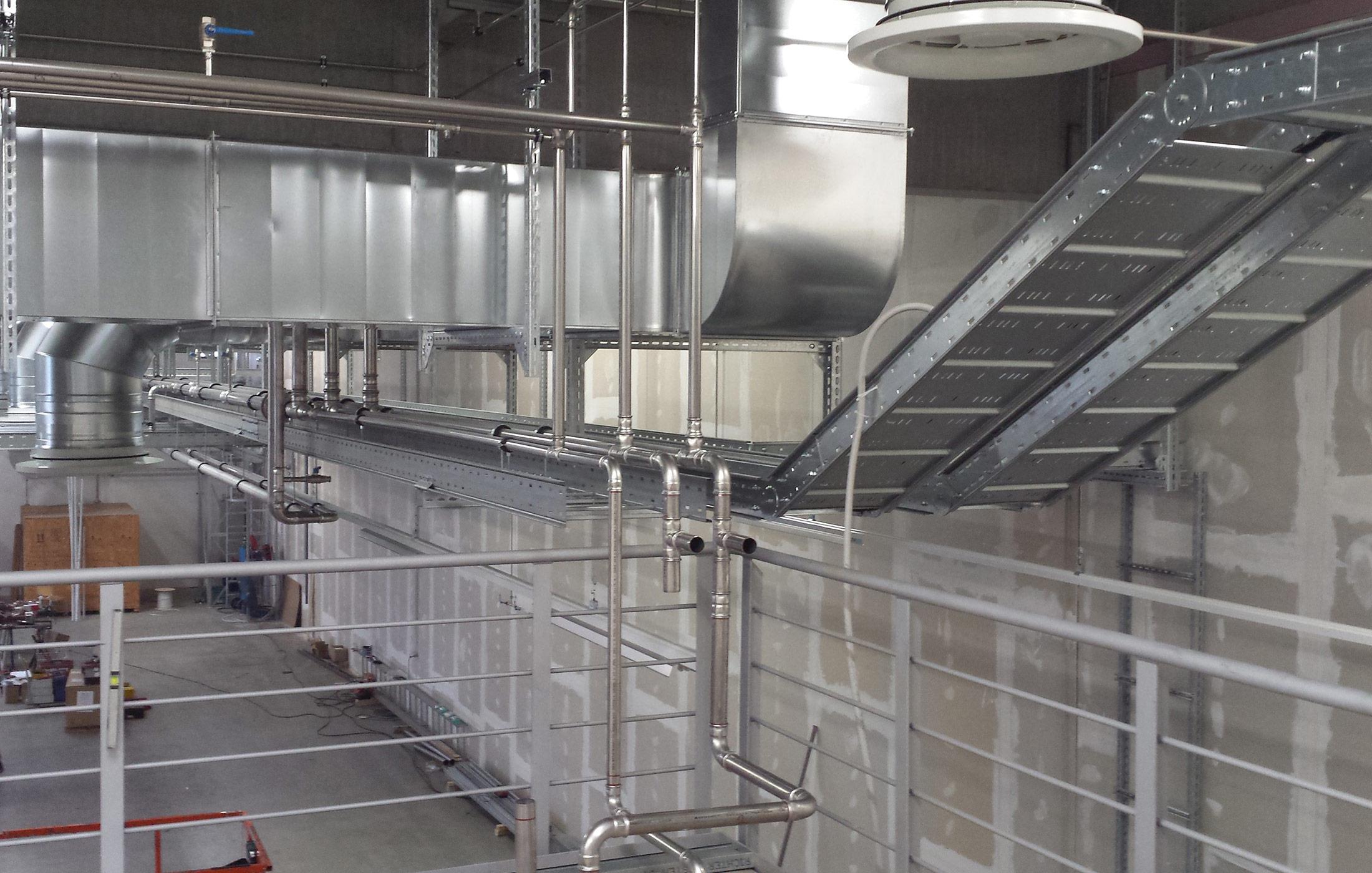 2016, Ausbau von Produktionshallen der Firma Festo, Denkendorf