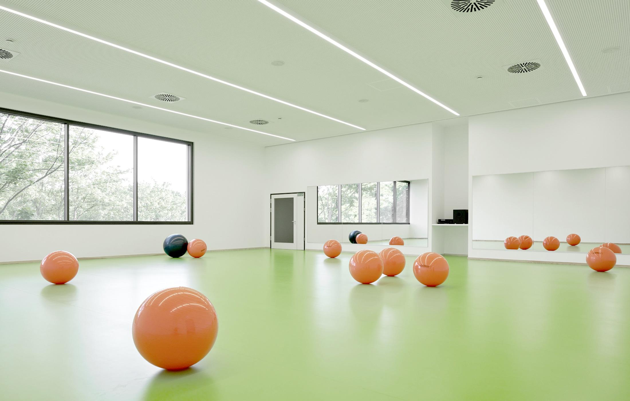 2016, Neubau Sportvereinszentrum, Böckingen
