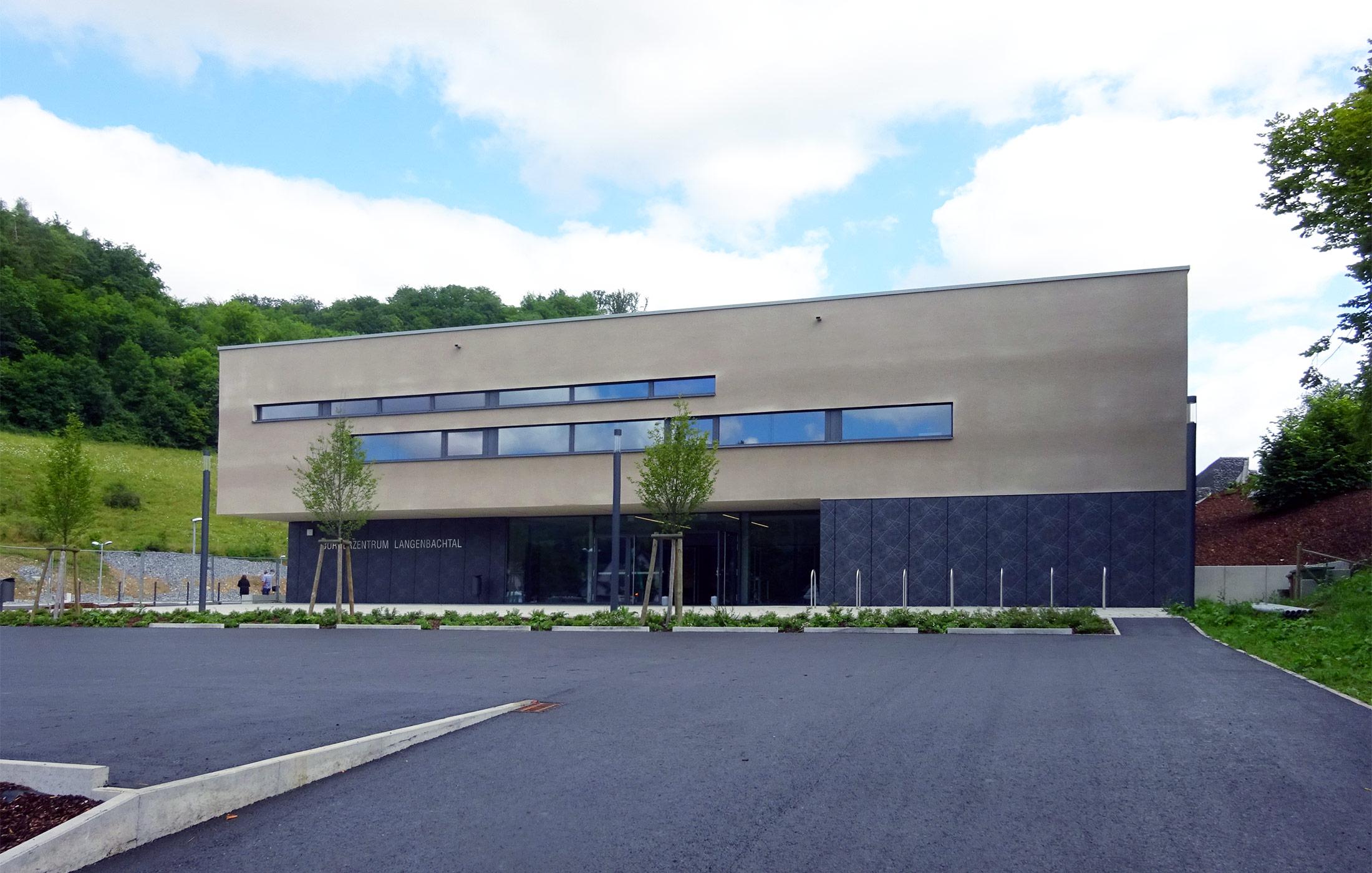 2017, Neubau Bürgerzentrum, Weißbach