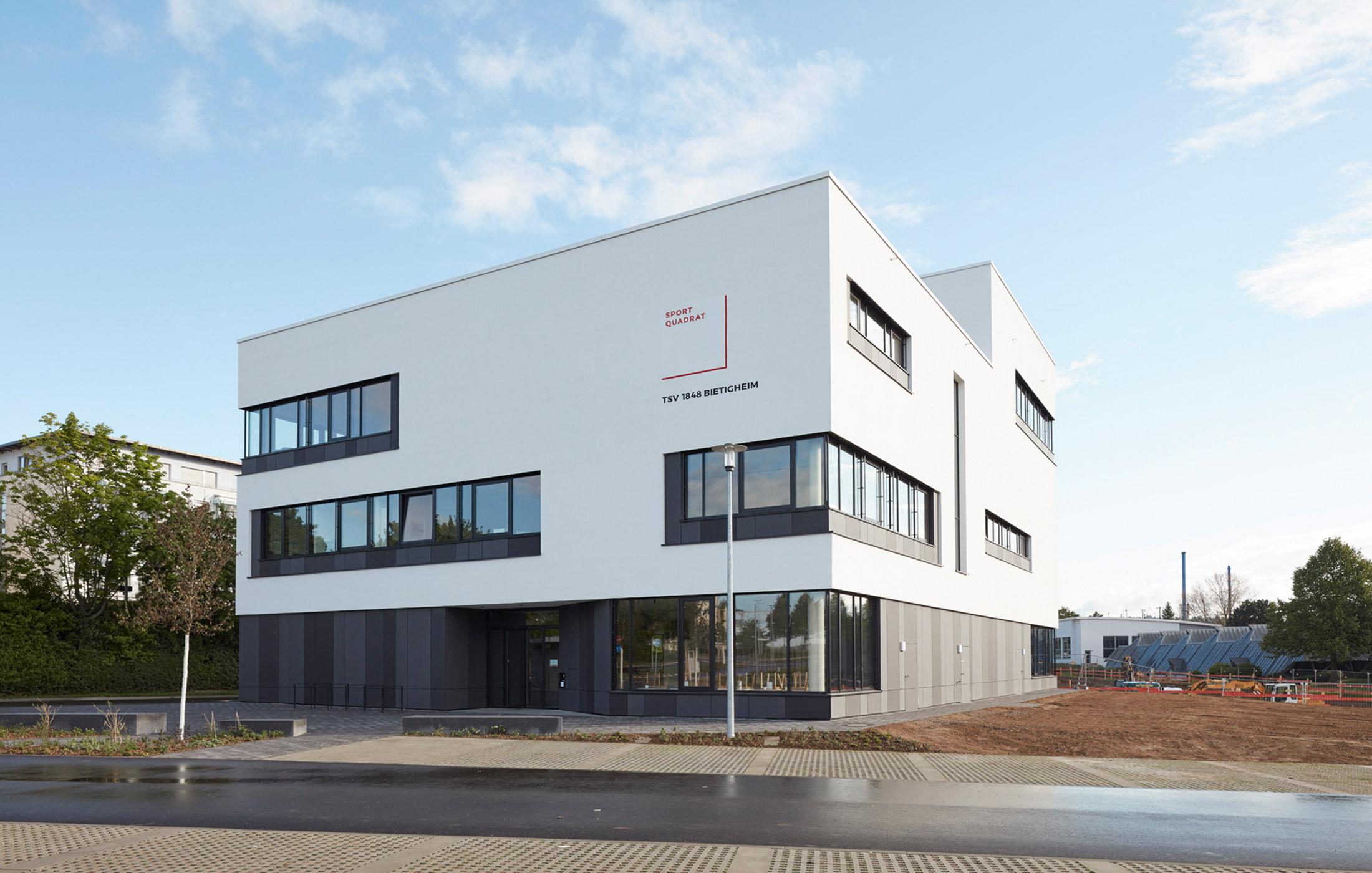 2017, Neubau Sportvereinszentrum Bietigheim