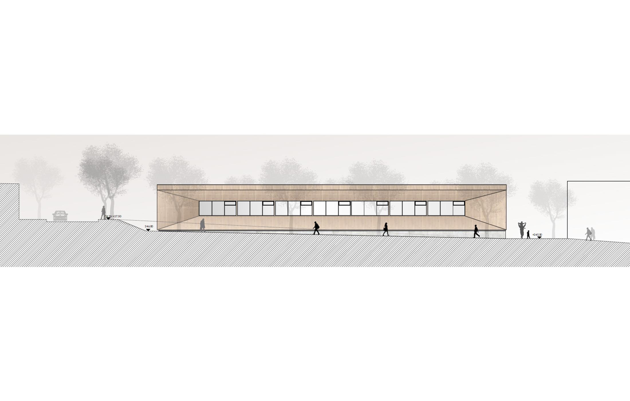 2017, Wettbewerb Dreifeld-Sporthalle Alter Postweg