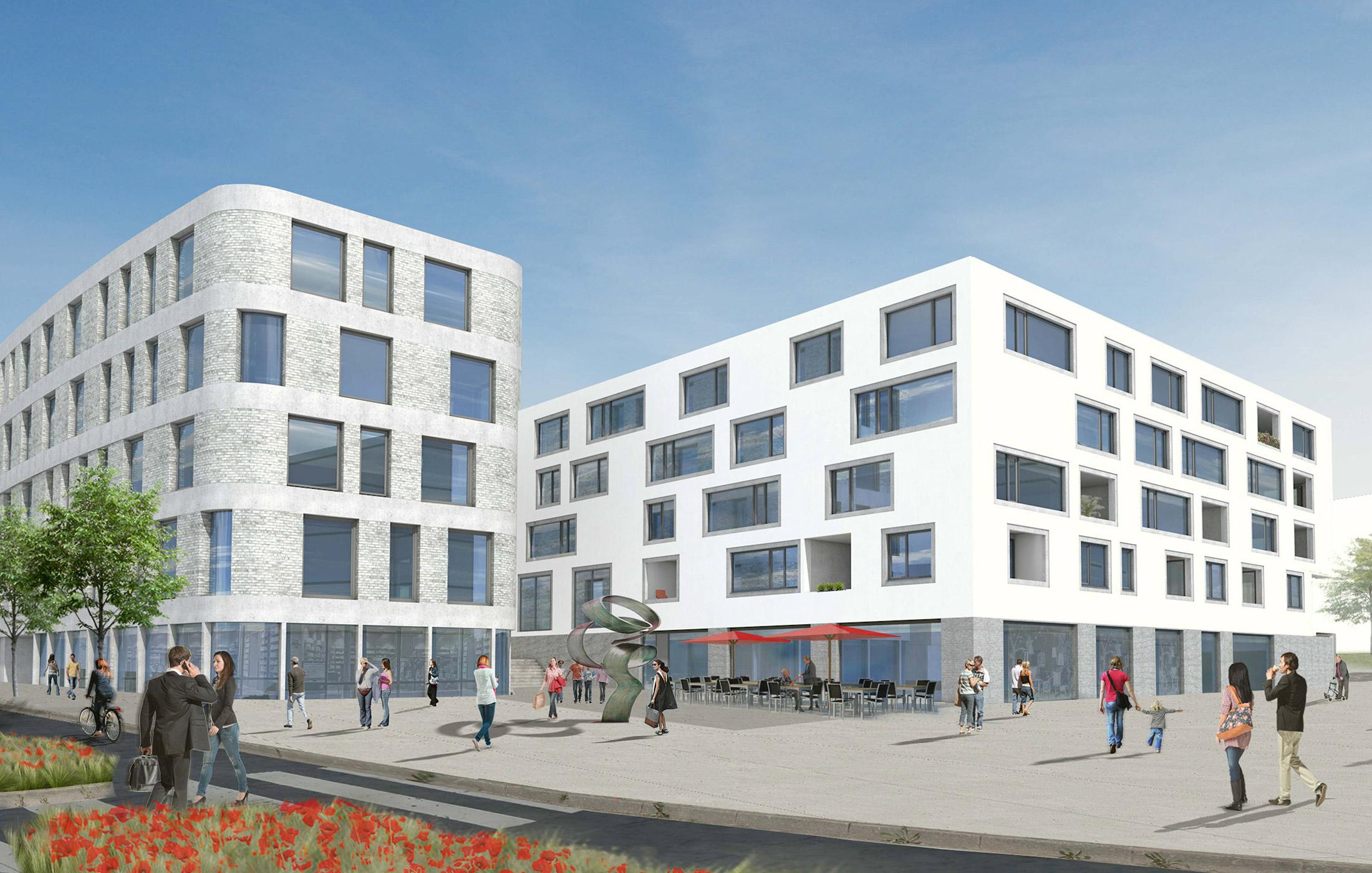 2018, Neubau City Quartier, Böblingen