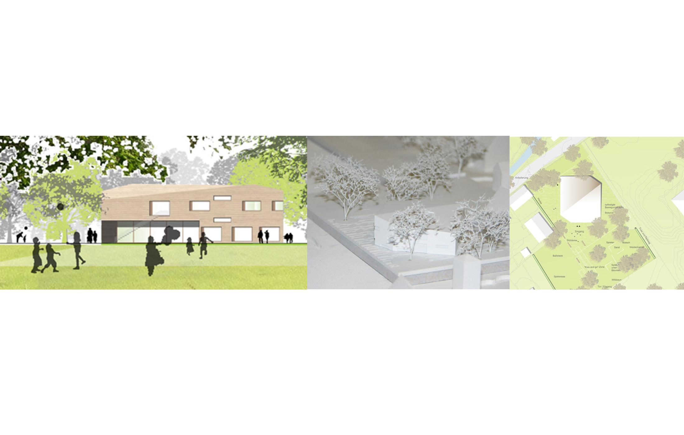 2010, Wettbewerbsbetreuung Kinderhaus Schloss, Ditzingen