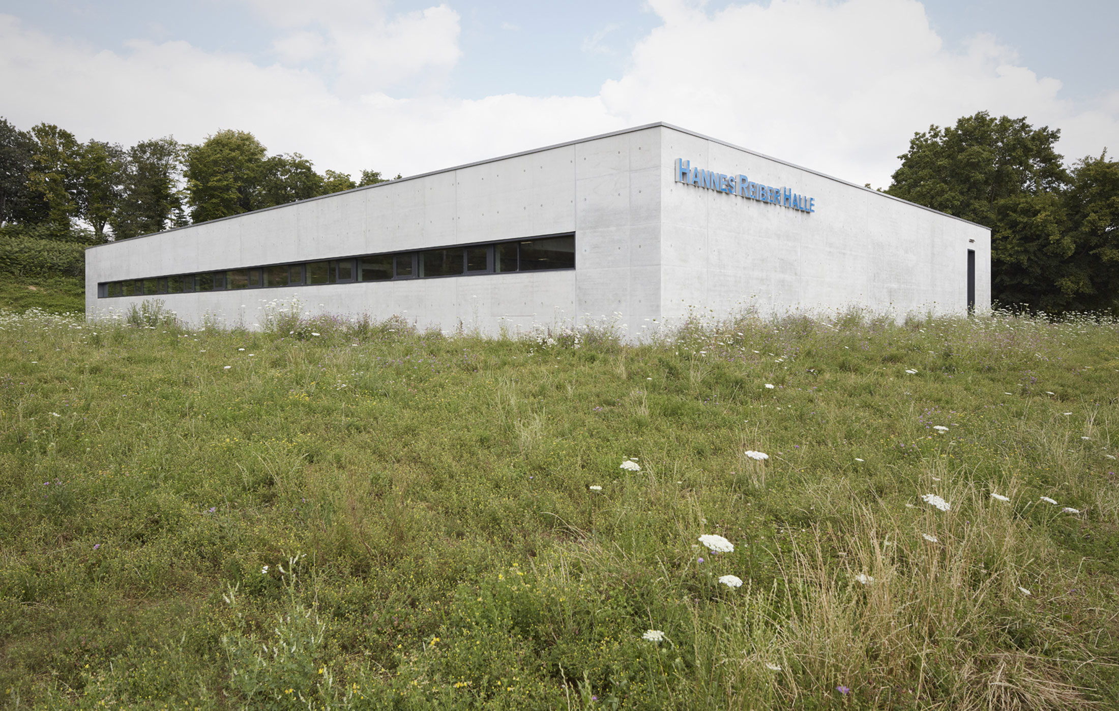 2016, Neubau Hannes-Reiber-Halle, Kornwestheim