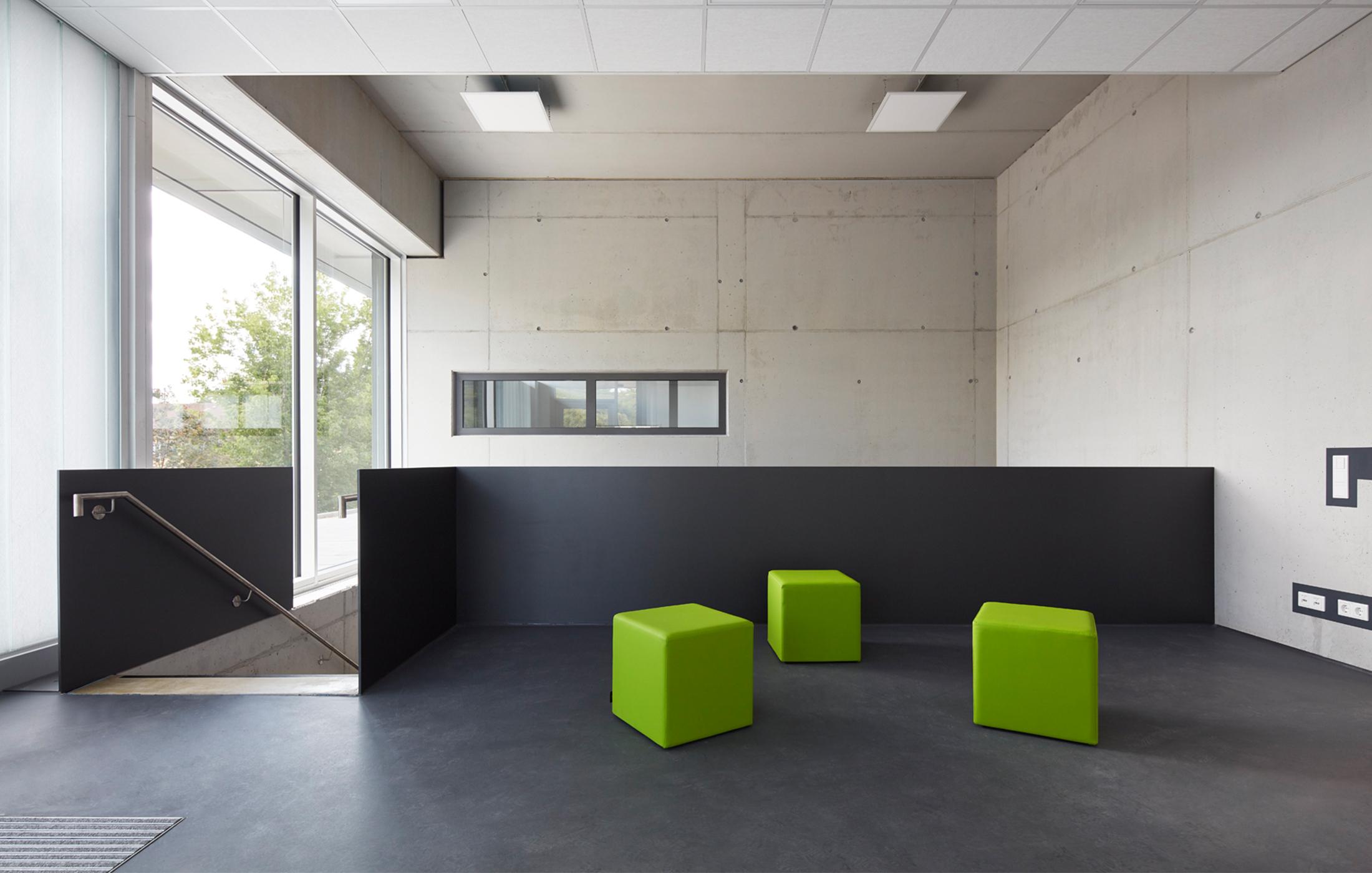 2018, Neubau Werk- und Ausbildungsstätte für Sehbehinderte Nikolauspflege, Stuttgart
