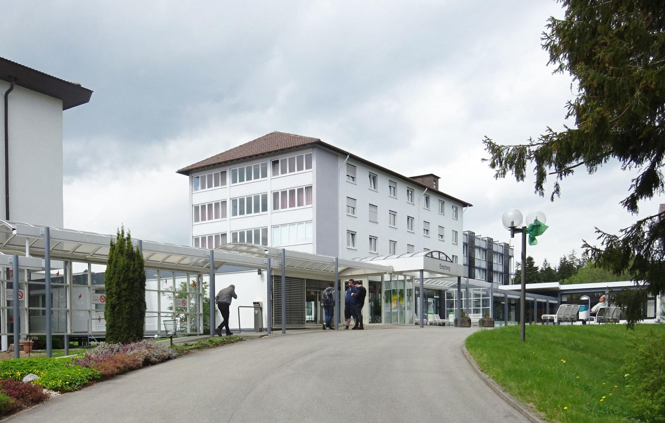 2018, Barrierefreie Untersuchung Berufsförderungswerk Schömberg e.V