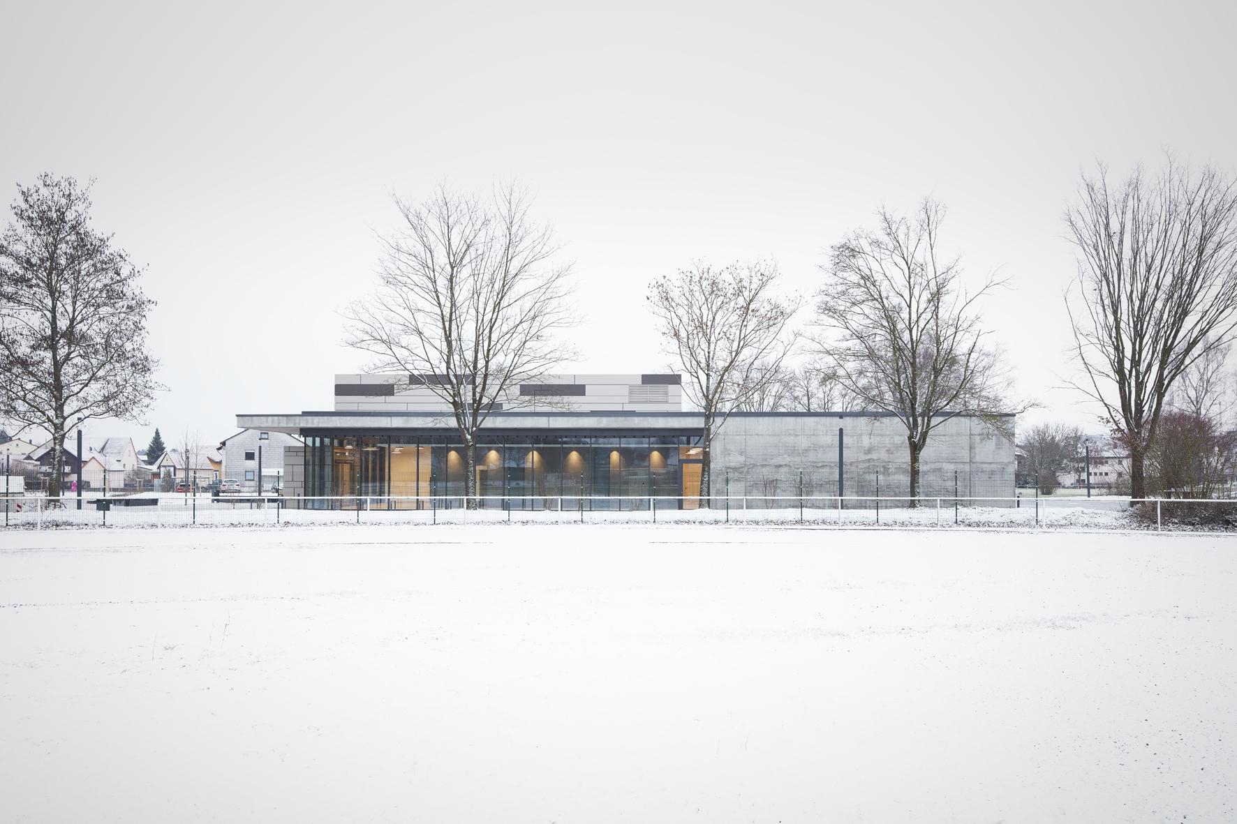 2018, Sanierung Merhzweckhalle, Massenbachhausen