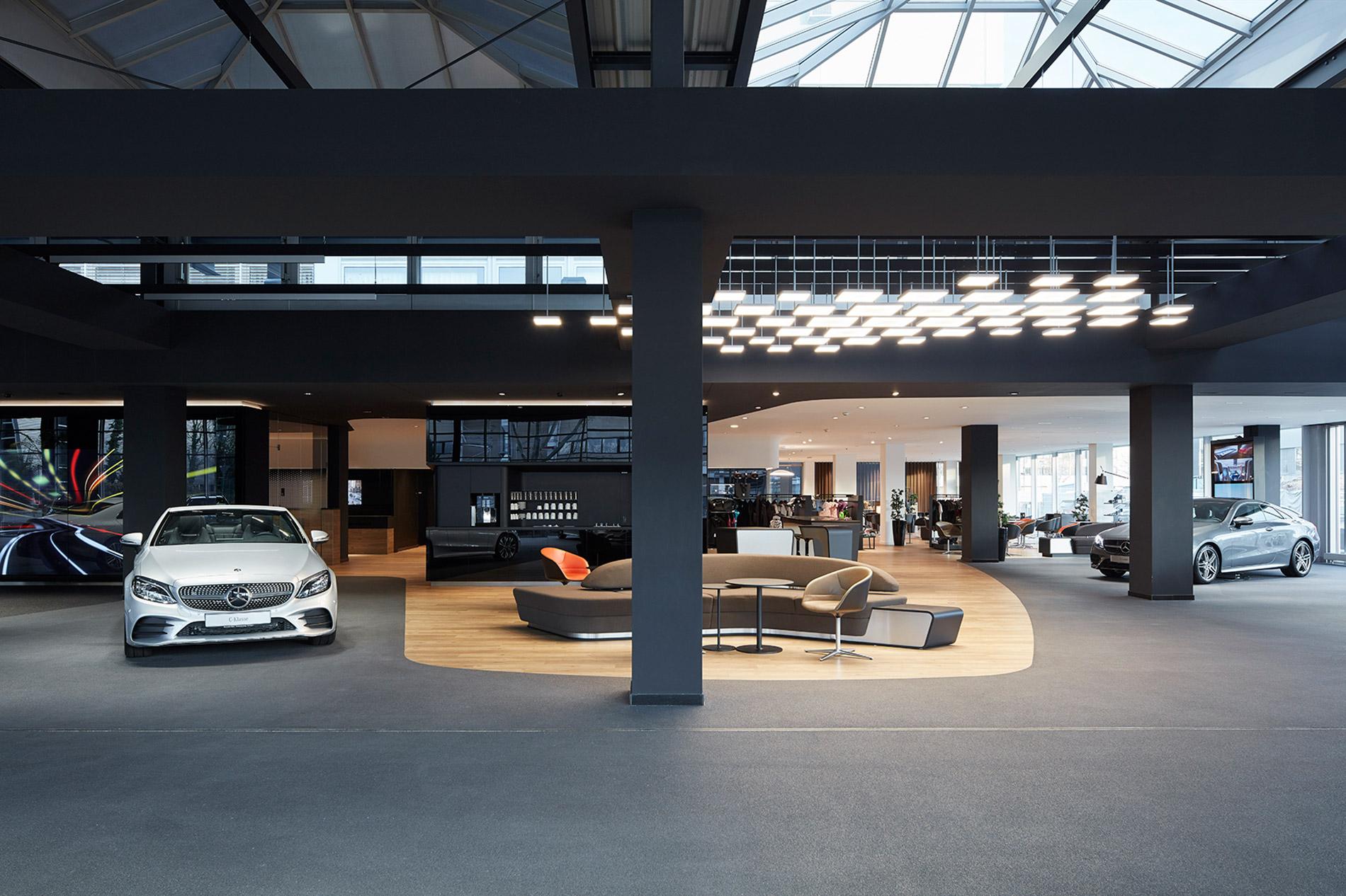 2019, Umbau Mercedes-Benz Niederlassung, Böblingen