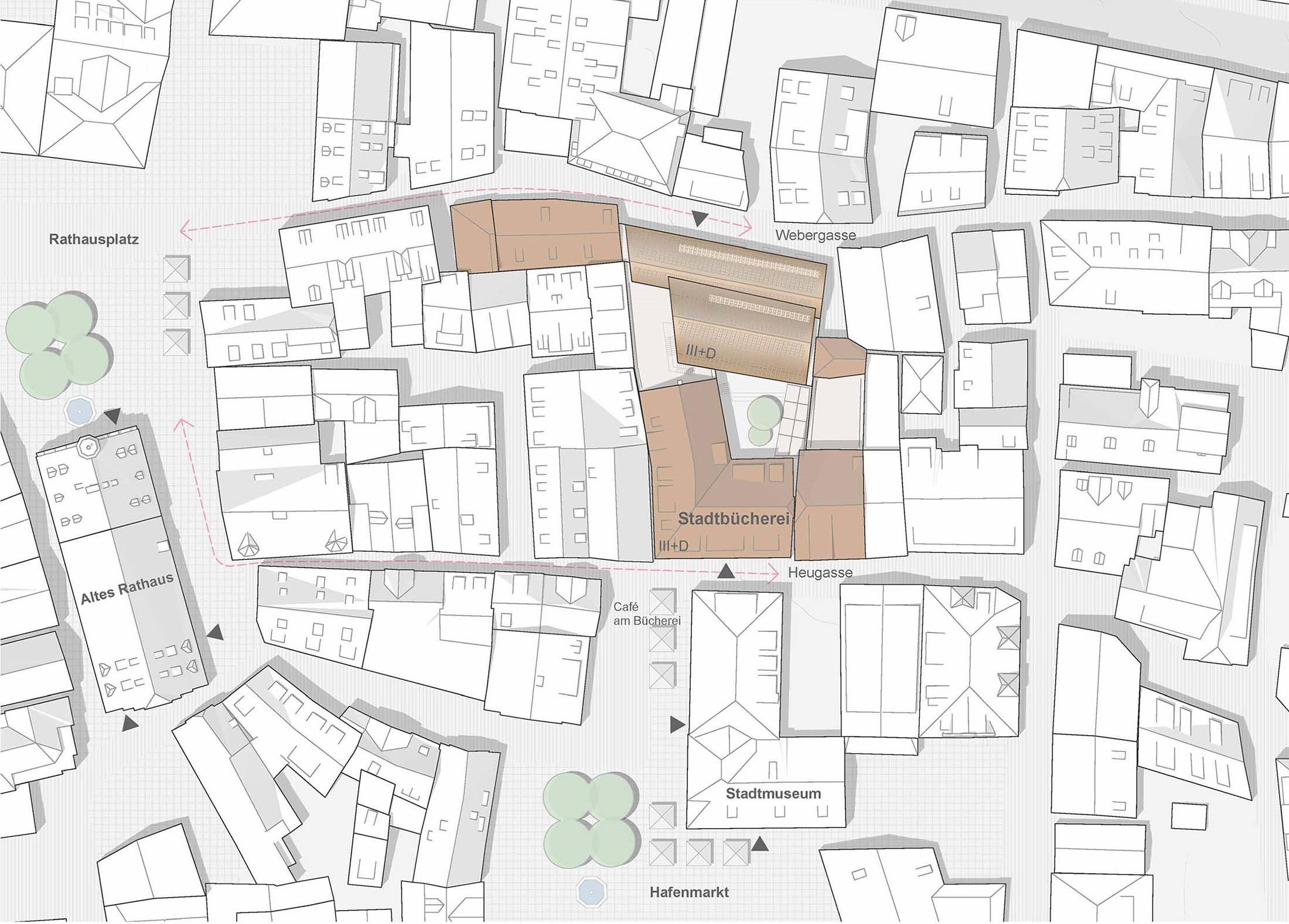 2020, Wettbewerbsbetreuung Stadtbücherei Esslingen