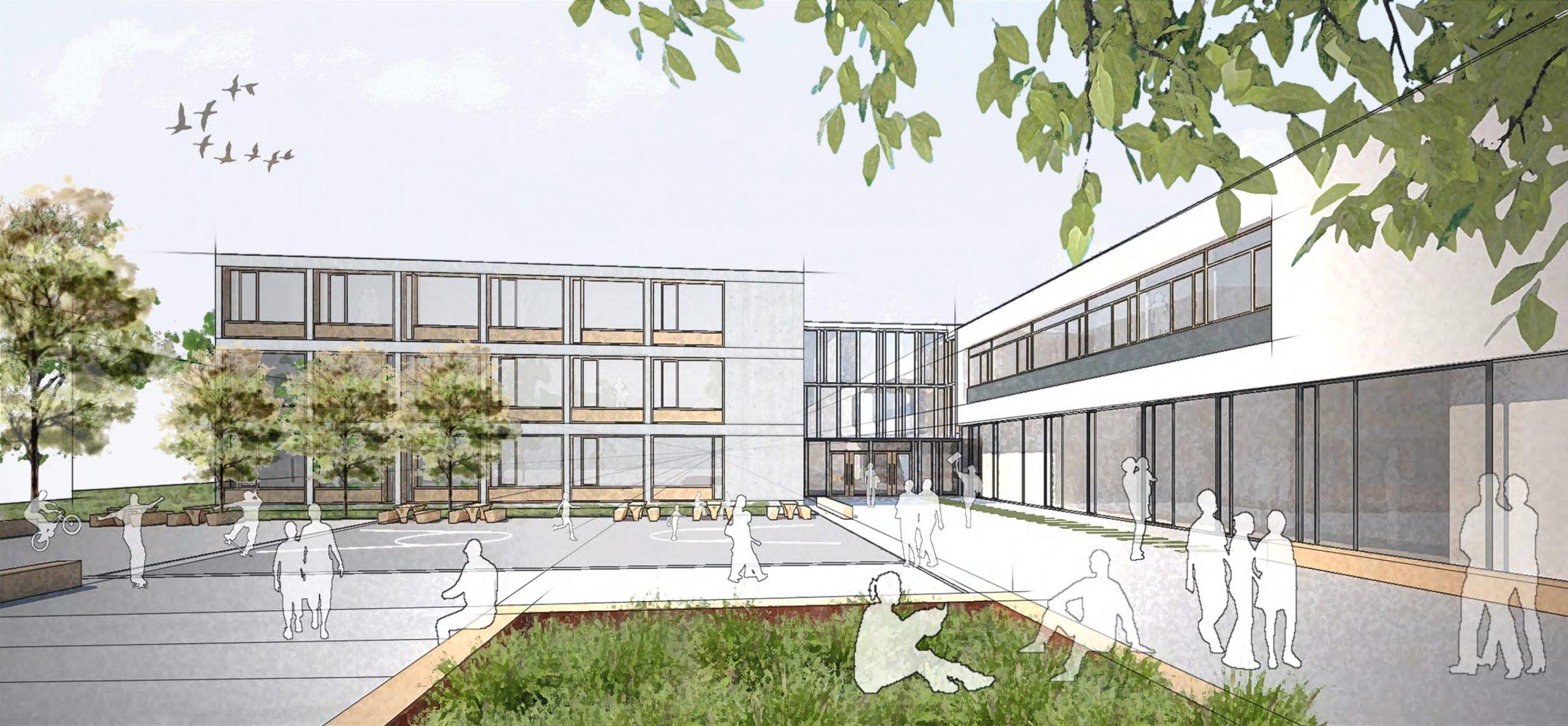 2020, Wettbewerbsbetreuung Neue Schule Esslingen
