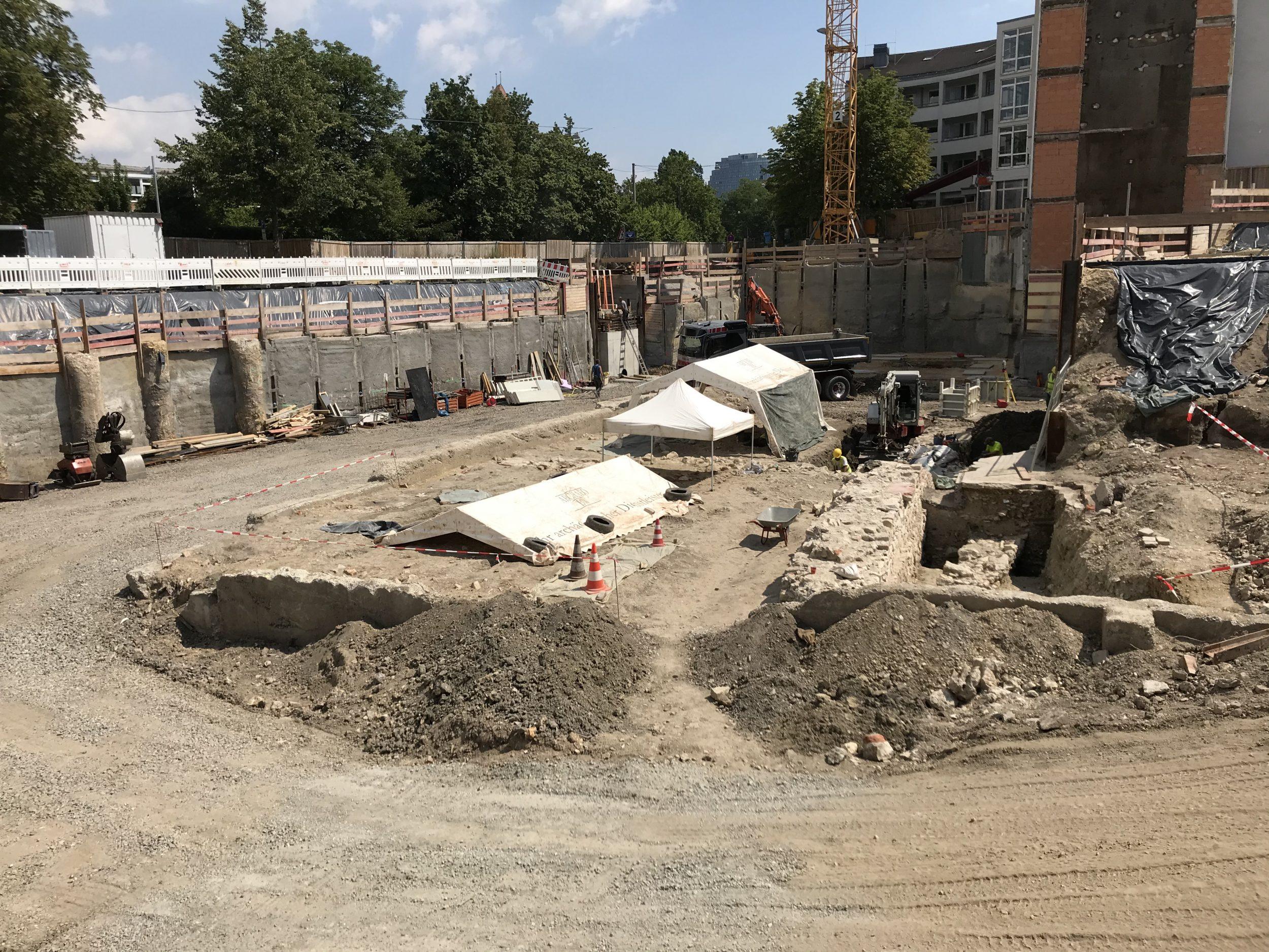 Dreifaltigkeitshof Archäologie