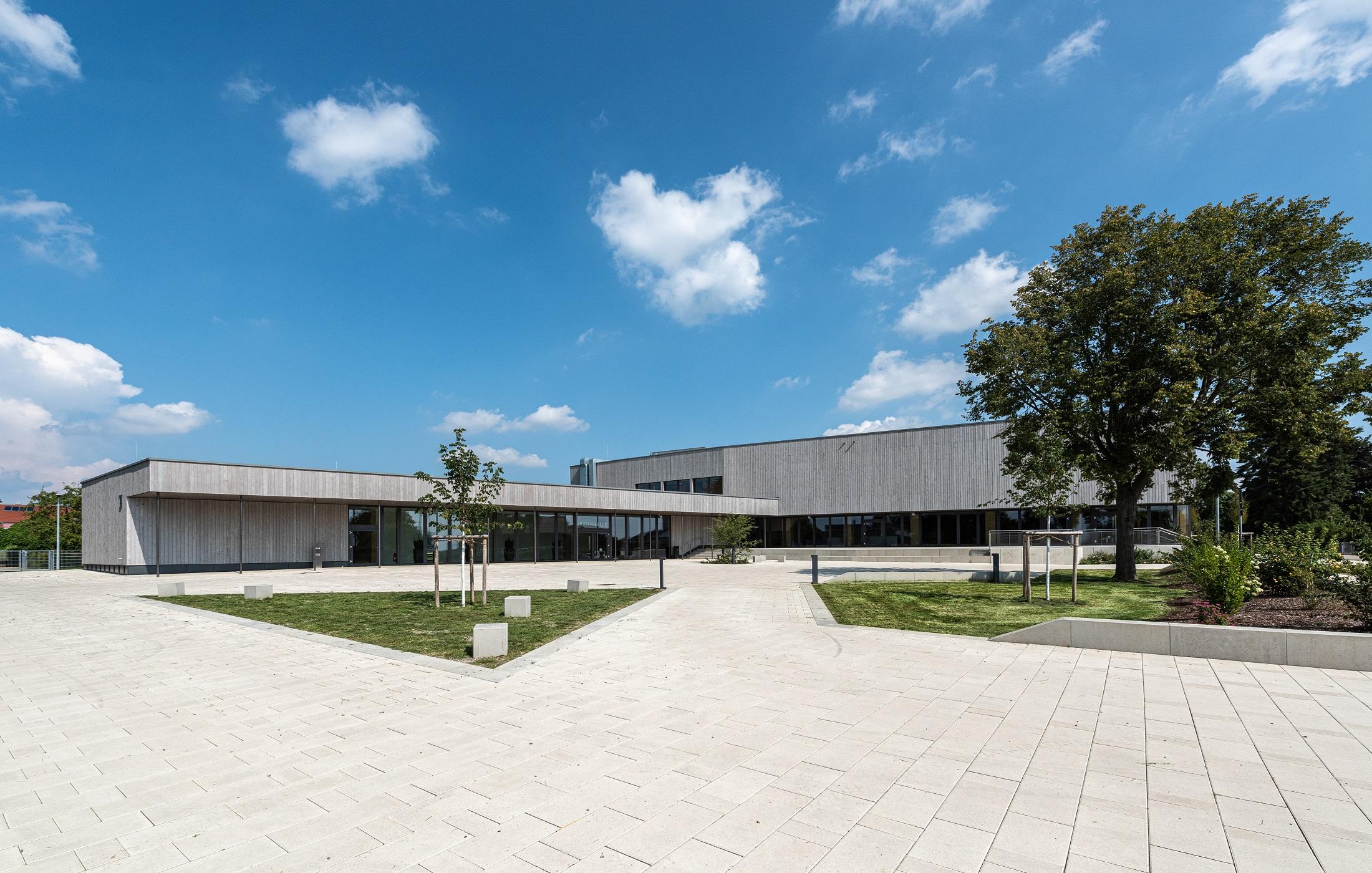 """Neubau Mehrzweckhalle """"Lindenhalle"""", Gerstetten"""
