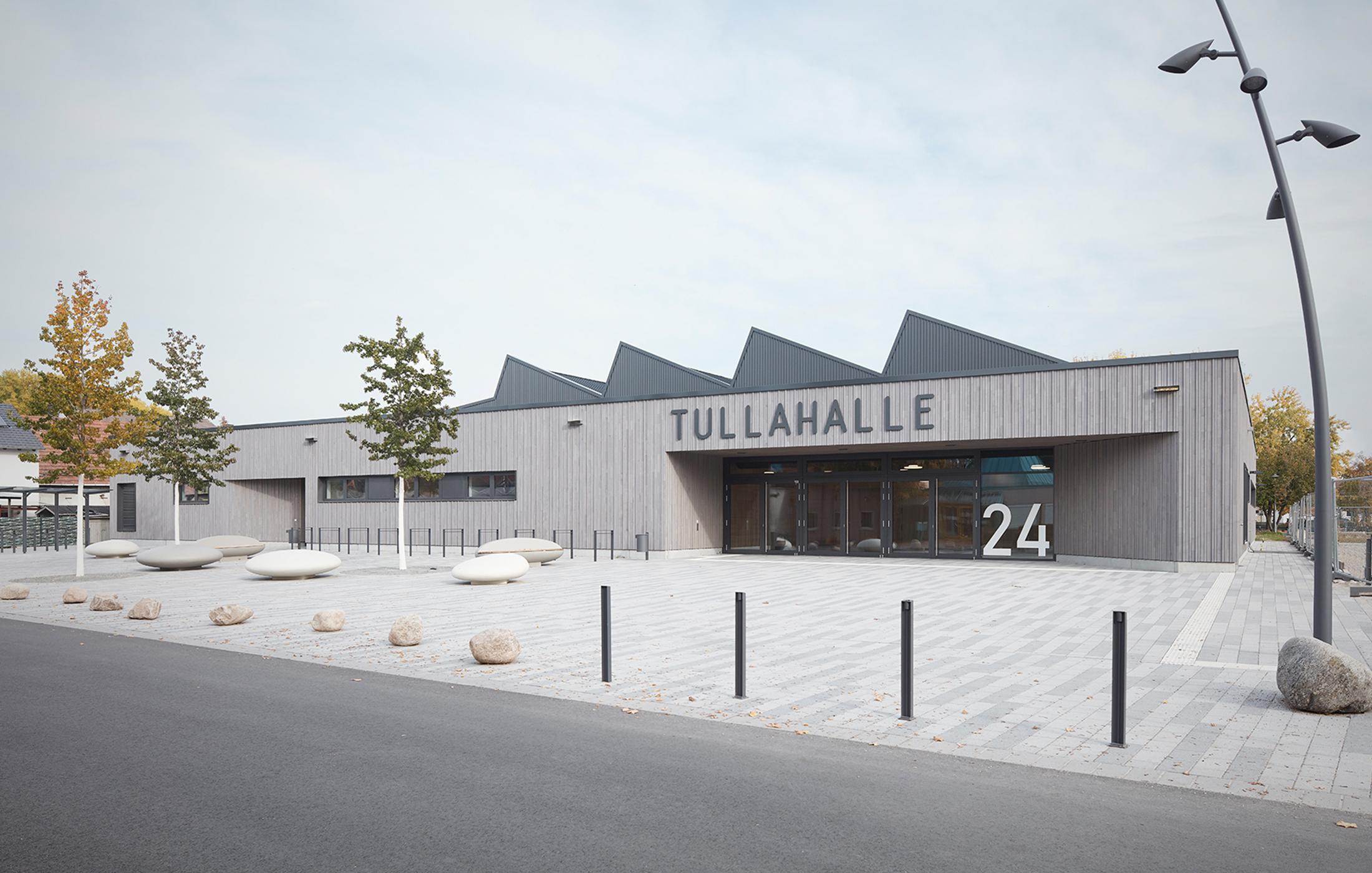 2020, Neubau Tullahalle, Rheinhausen Oberhausen