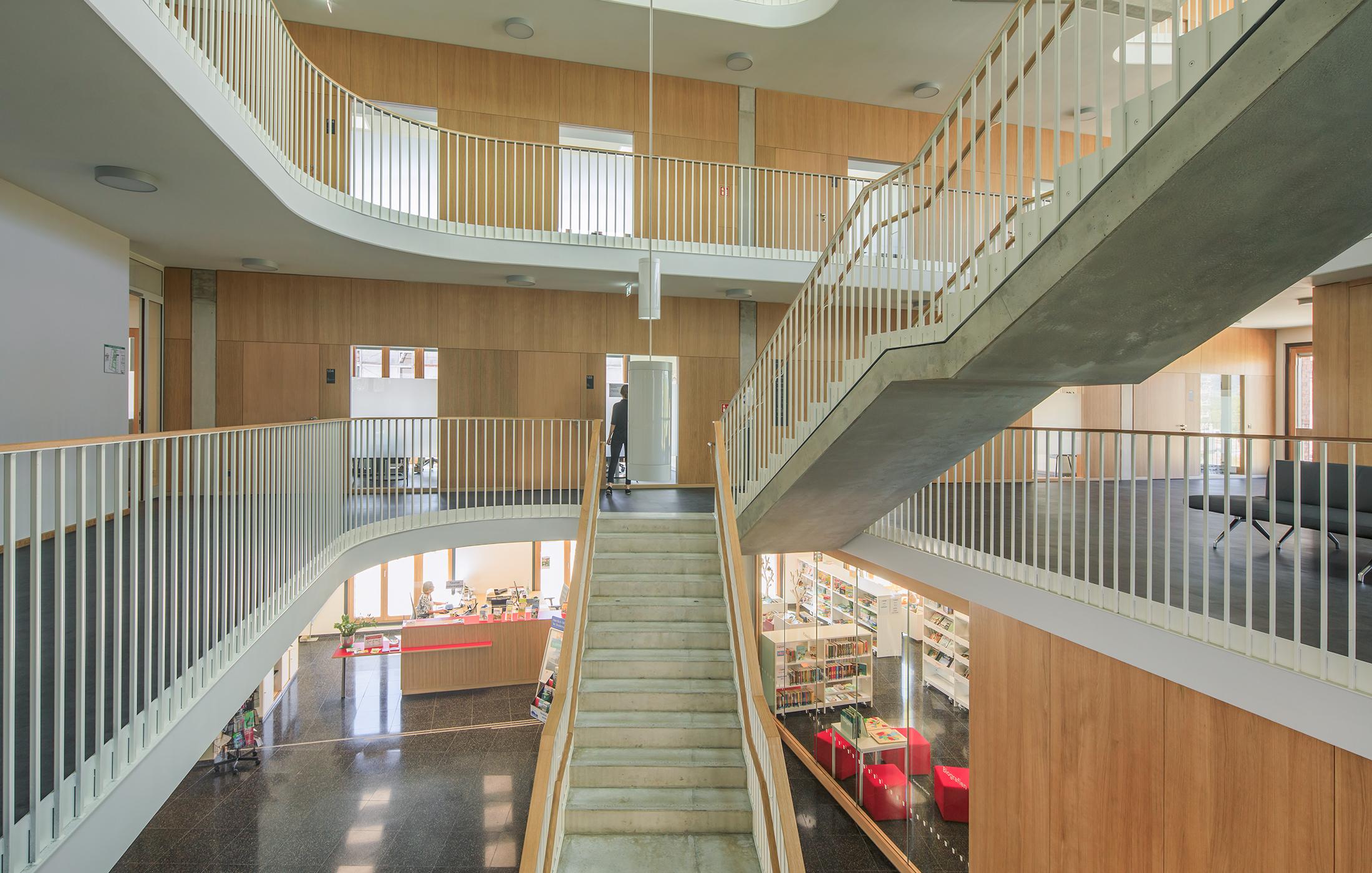 2020, Neubau Neue Mitte Rathaus und Tiefgarage, Salem
