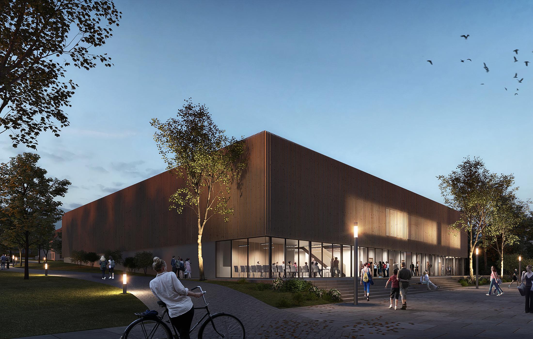 2019, Wettbewerb Neubau Dreifeldhalle, Laupheim