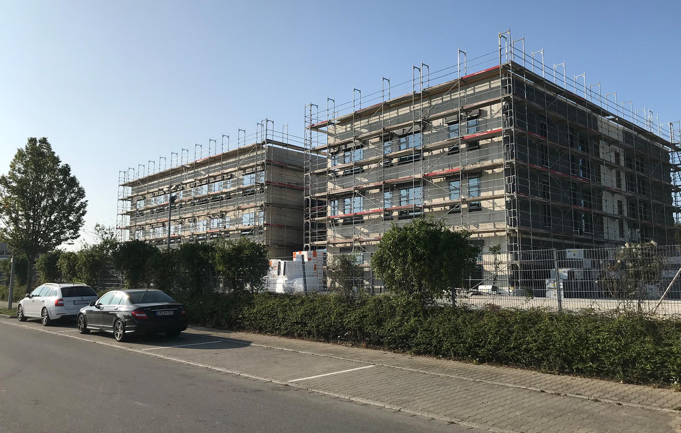 BFW Neubau Geschäftsstelle Stuttgart in Renningen, Baustelle