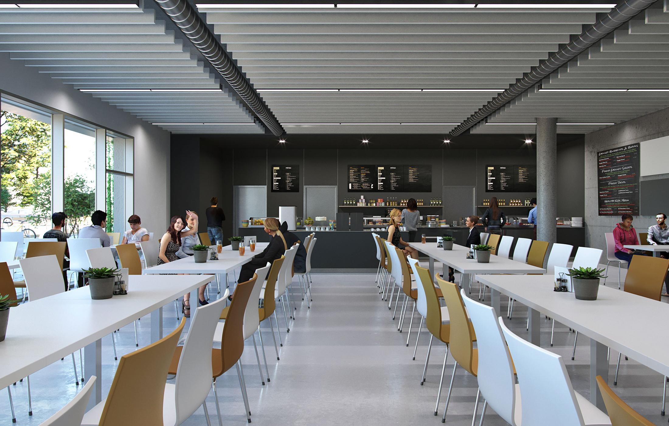 BFW Neubau Geschäftsstelle Stuttgart in Renningen, Speisesaal