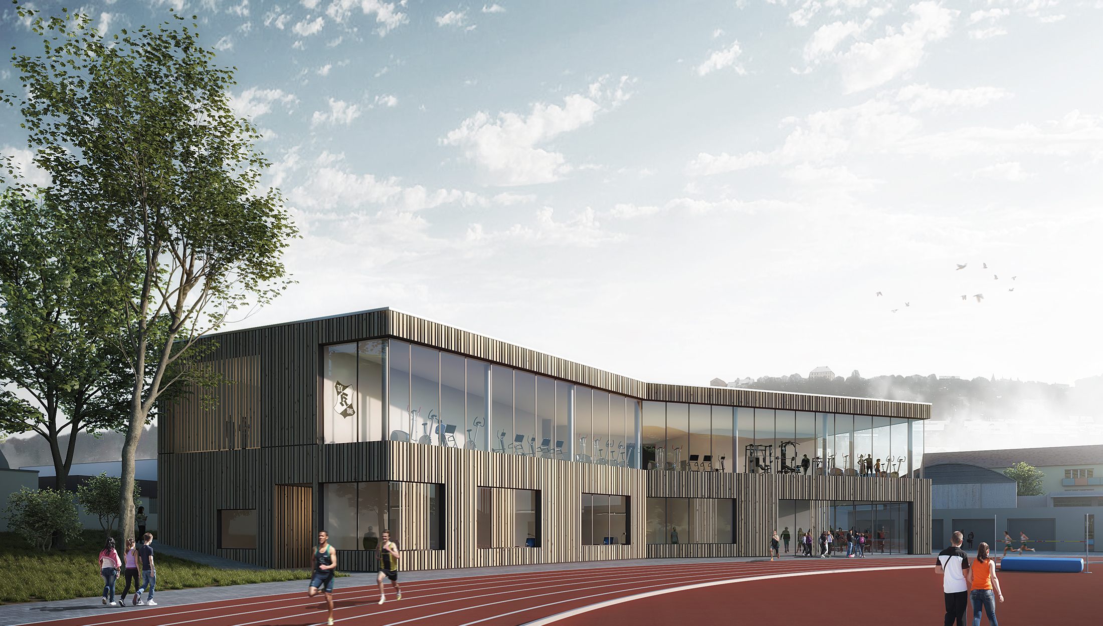 2019, Konzeptstudie Sportvereinszentrum TSV 1846 Künzelsau e.V., Künzelsau
