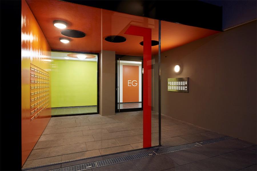 Lauchau Eingangsbereich