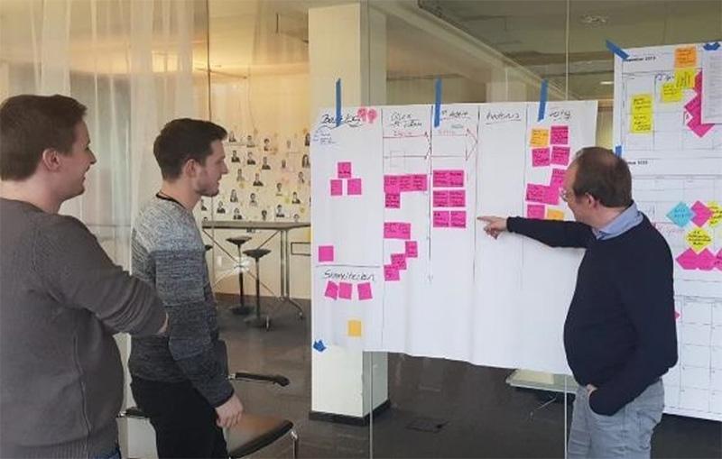 360! Agiles Projektmanagement bei KUBUS360