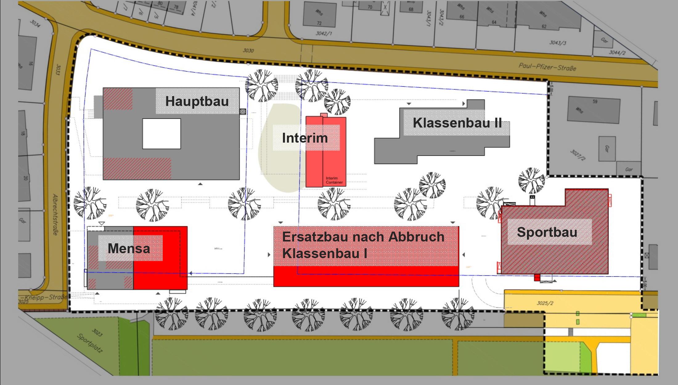 2019, Verfahrensbetreuung Sanierung des Sportbaus an der Eduard-Spranger-Schule, Reutlingen