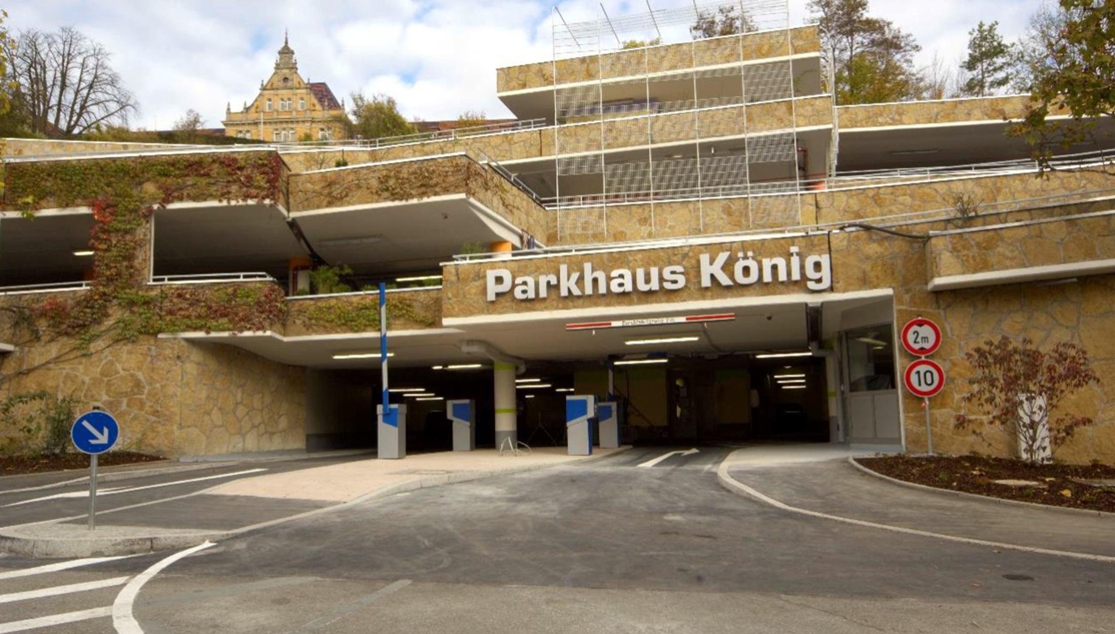 """2019, Verfahrensbetreuung Sanierung """"Parkhaus König"""", Tübingen"""