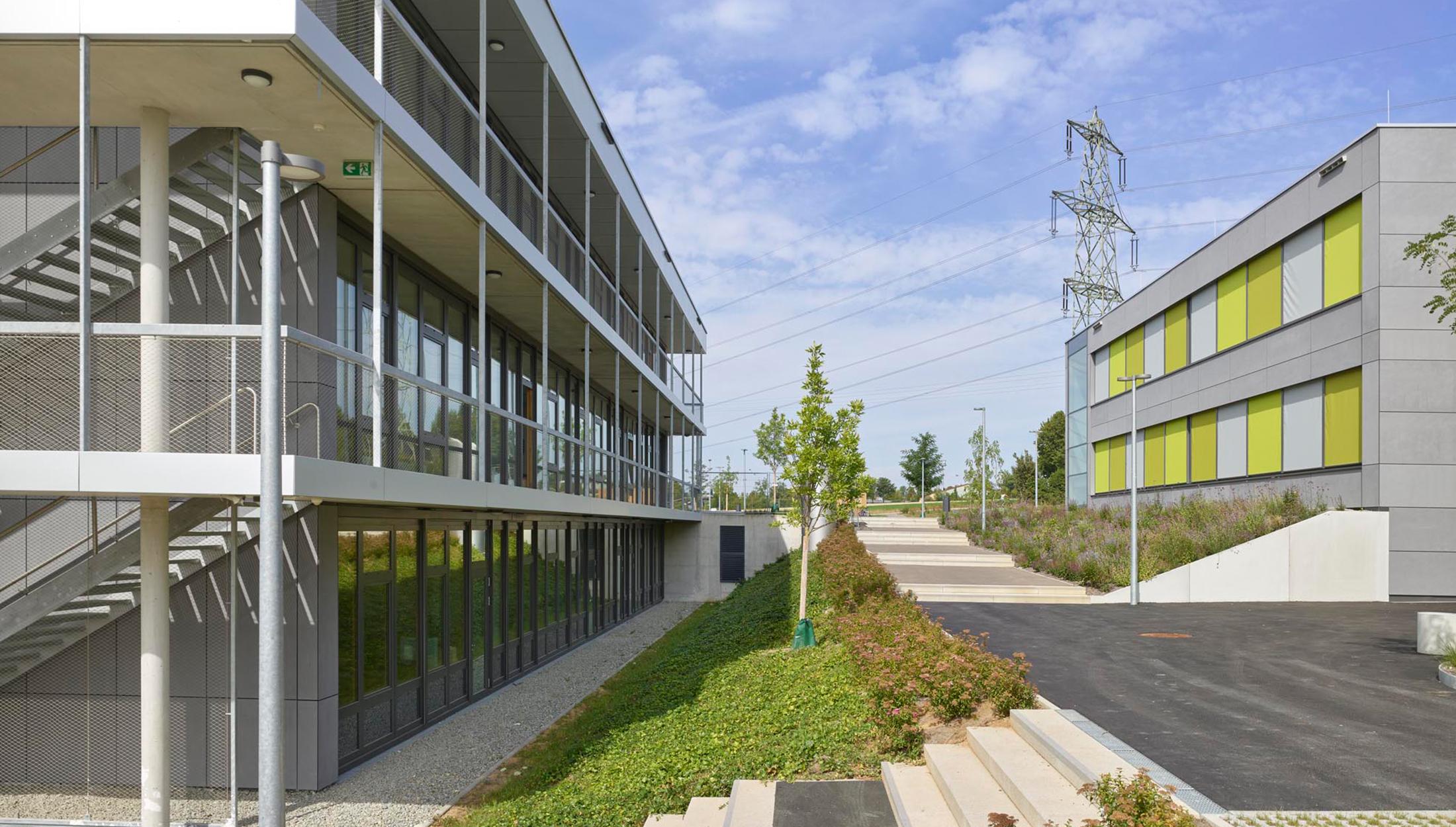 2019, Sanierung und Erweiterung Theodor-Heuglin-Schule, Ditzingen