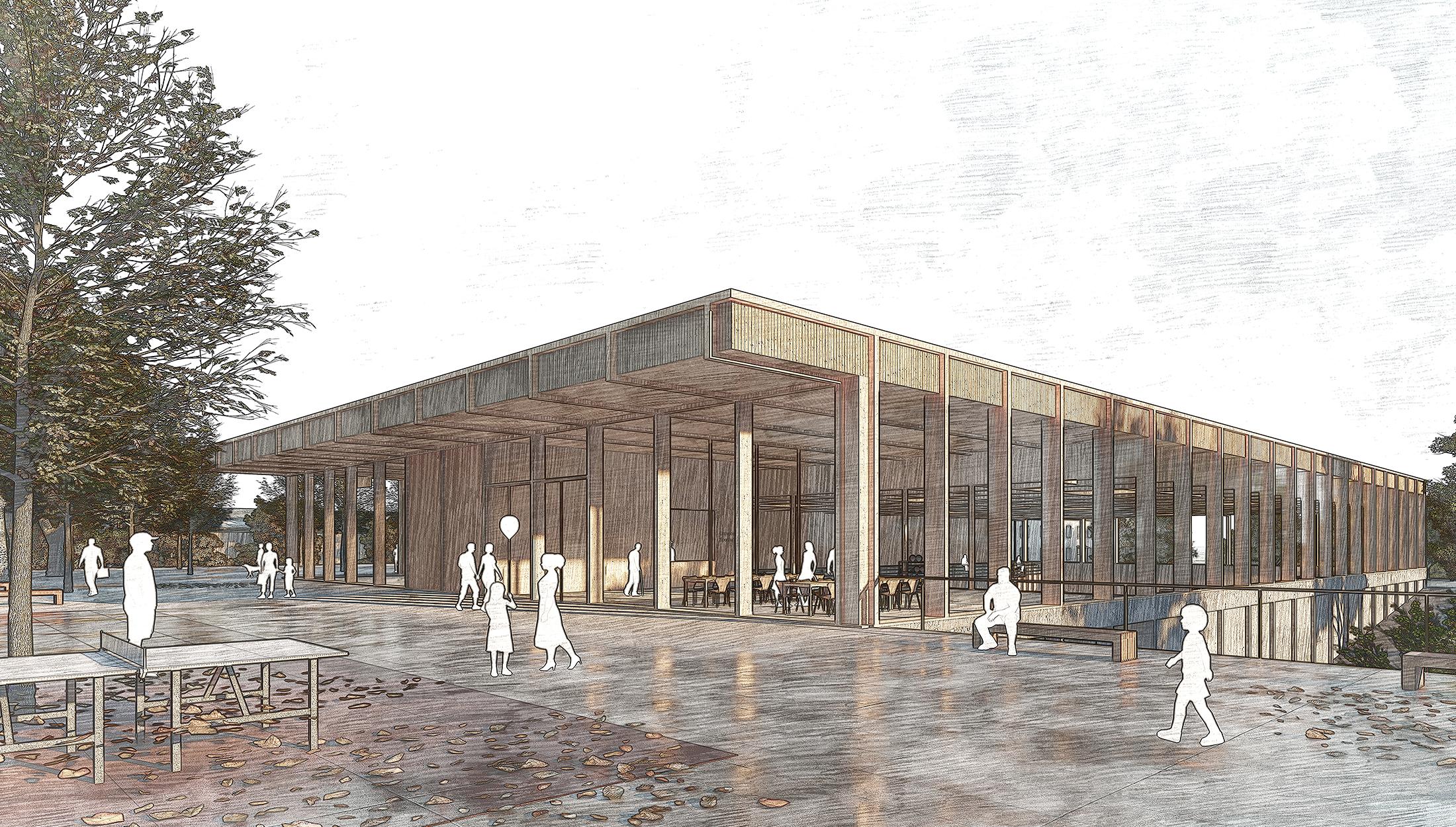 2021, Ersatzneubau Sporthalle & Generalsanierung Hallenbad, Loßburg