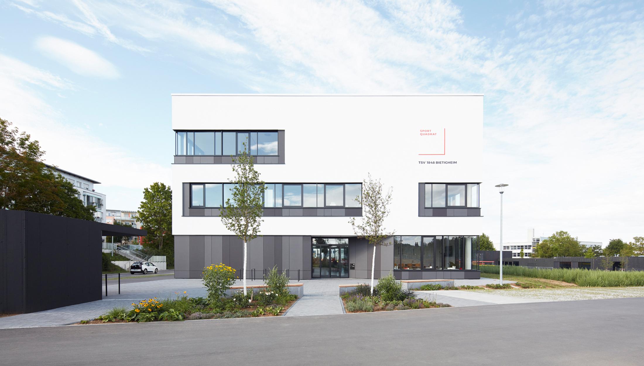 2017, Neubau Sportvereinszentrum, Bietigheim